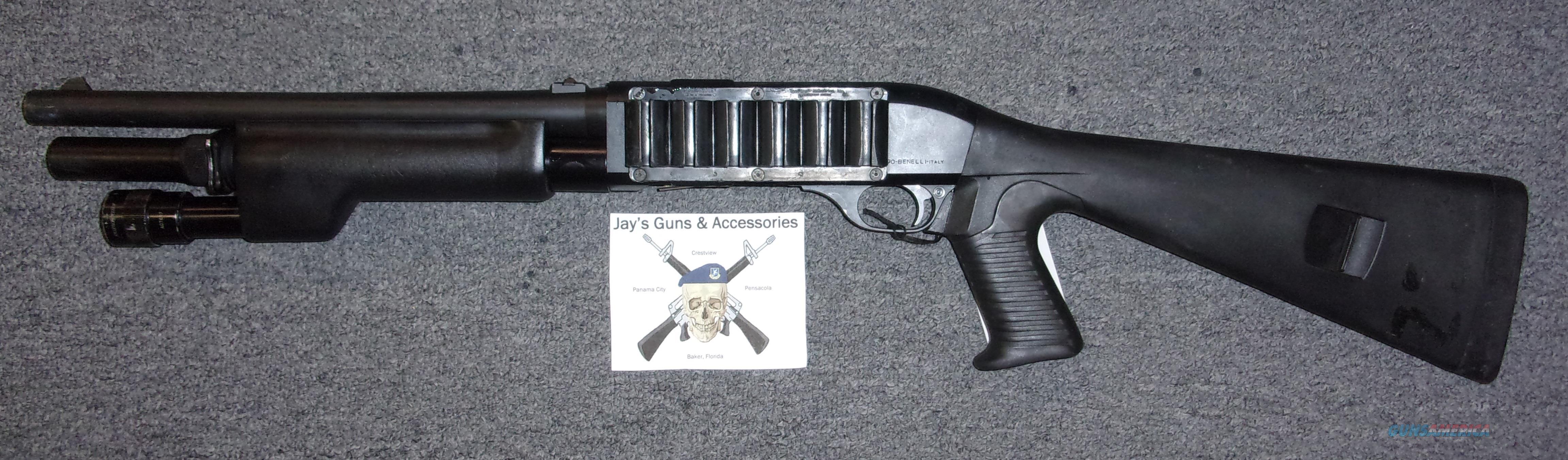 Benelli M1 Super 90 (11247)/NFA Item  Guns > Shotguns > Benelli Shotguns > Tactical