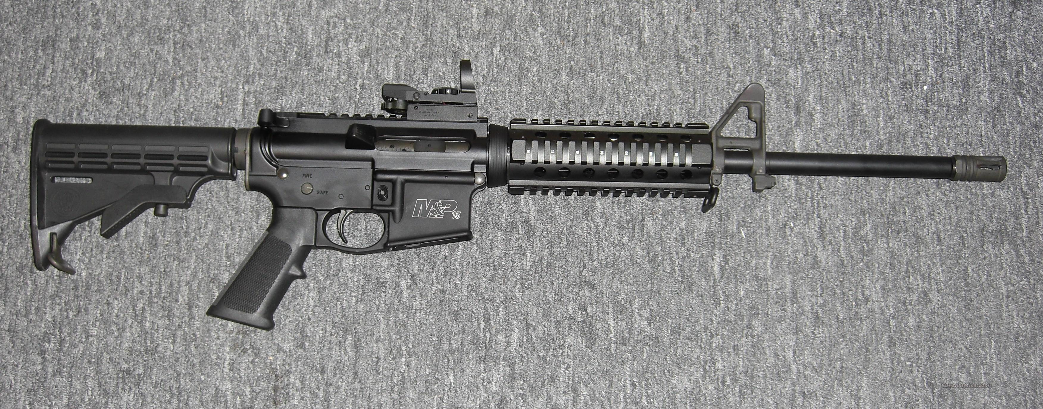 M & P 15 Sport  Guns > Rifles > Smith & Wesson Rifles > M&P