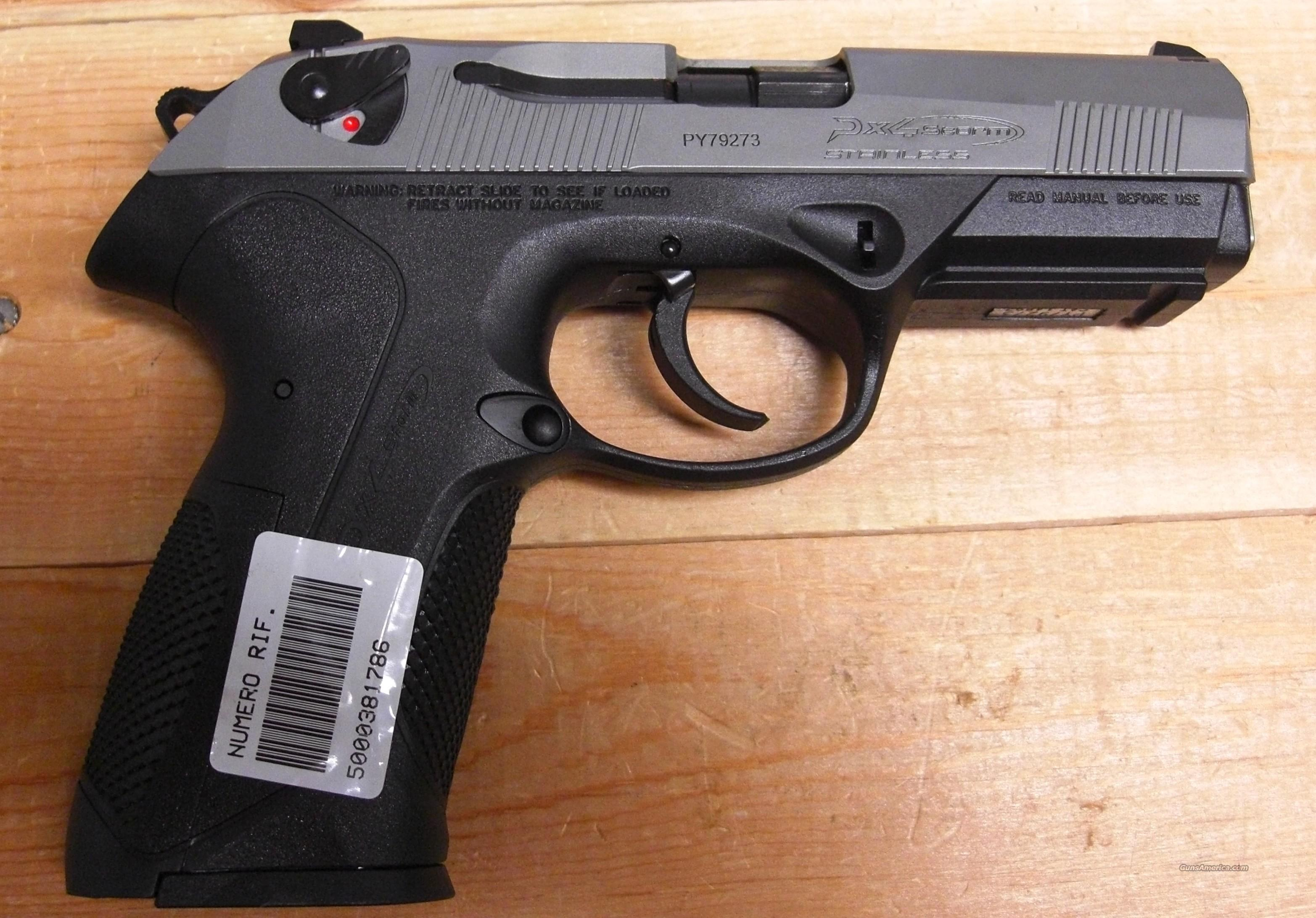 Px4 Storm Type F w/stainless slide  Guns > Pistols > Beretta Pistols > Rare & Collectible