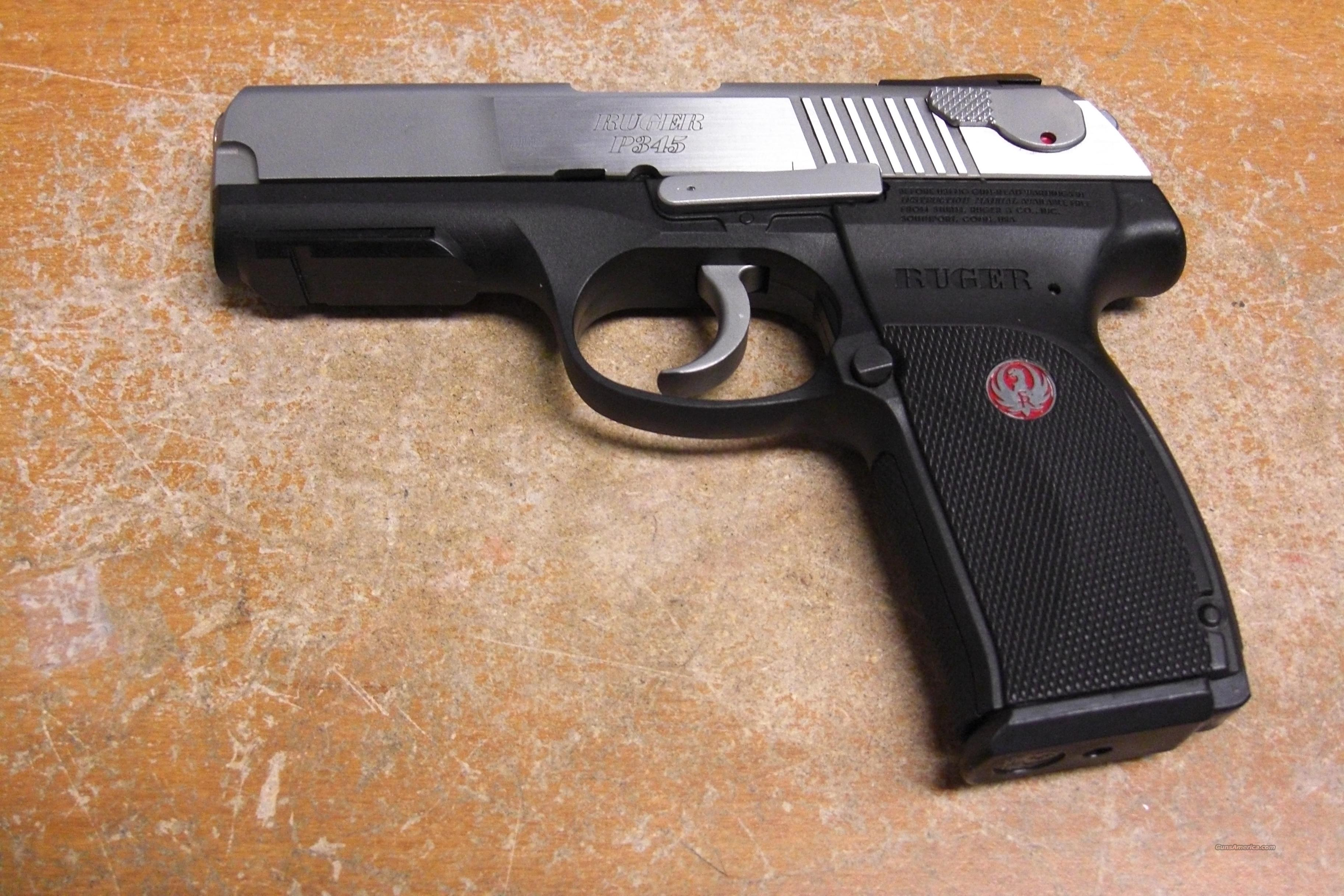 P345  2-tone stainless  Guns > Pistols > Ruger Semi-Auto Pistols > P-Series