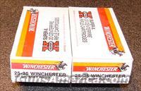 WINCHESTER 25-35 AMMO 2 BOXES  Non-Guns > Ammunition