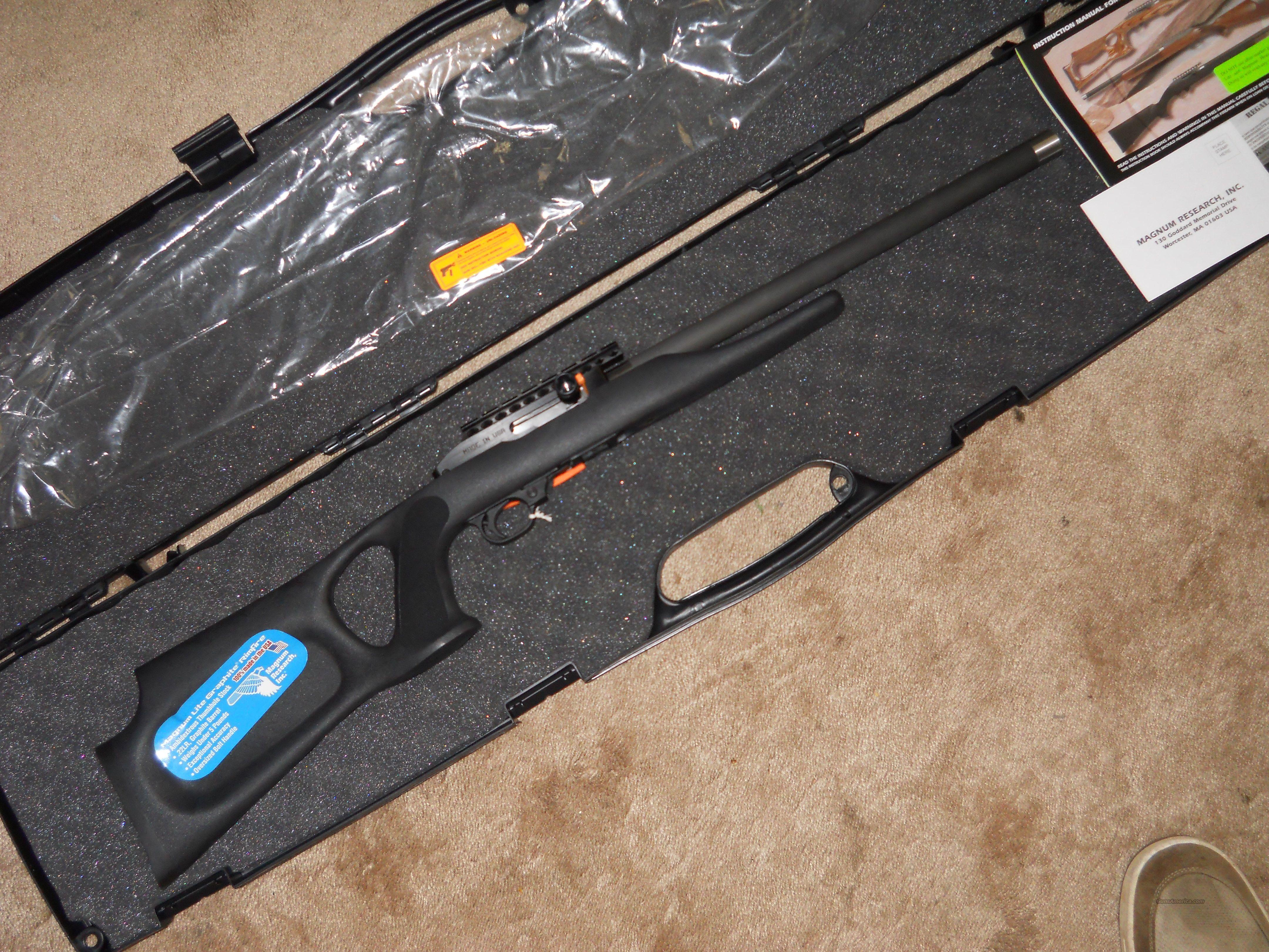 Ruger 1022 Target Lite Thumbhole Im Kaliber 22lr: Magnum Research Magnum Lite MLR22 For Sale