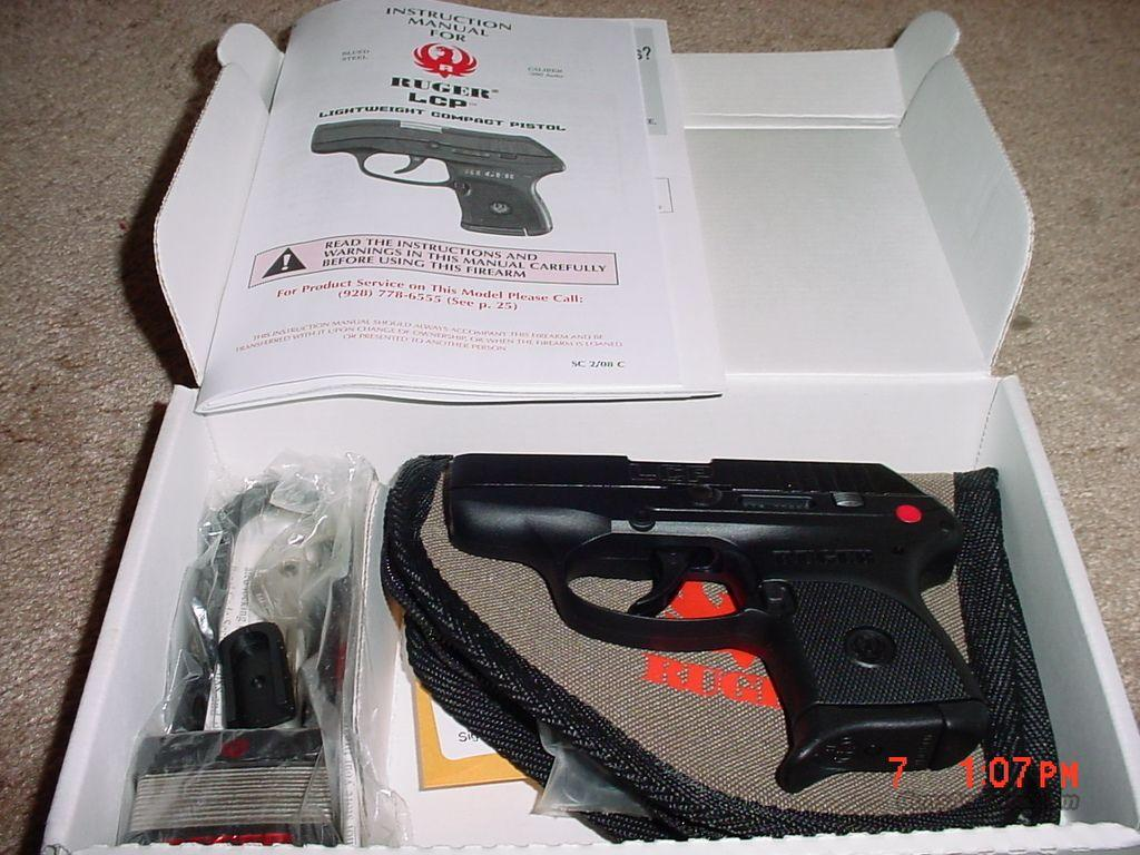 RUGER LCP 380 PISTOL  Guns > Pistols > Ruger Semi-Auto Pistols > LCP