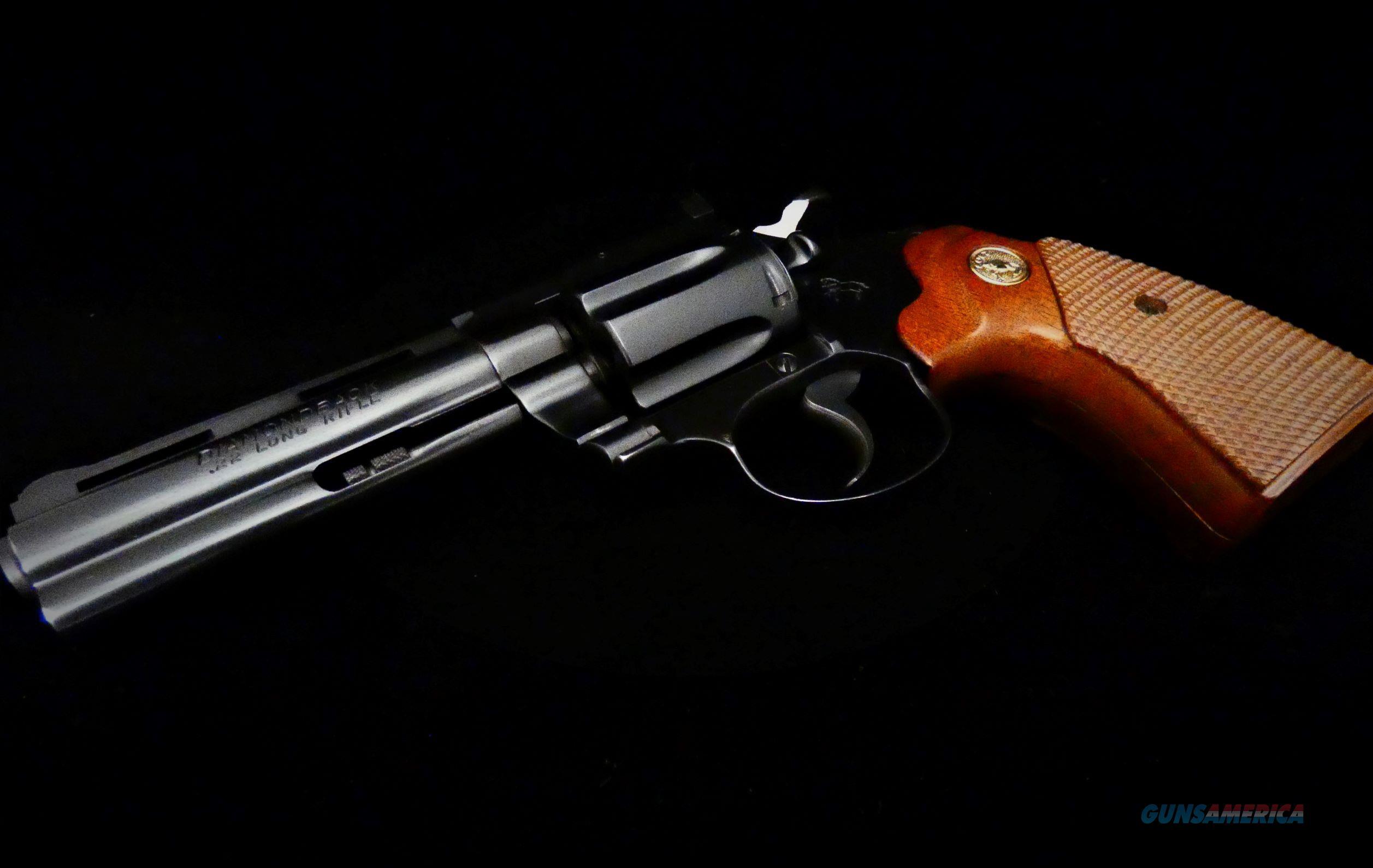 "Colt Diamondback .22 LR Blue finish 4"" BBL Revolver  Guns > Pistols > Colt Double Action Revolvers- Modern"