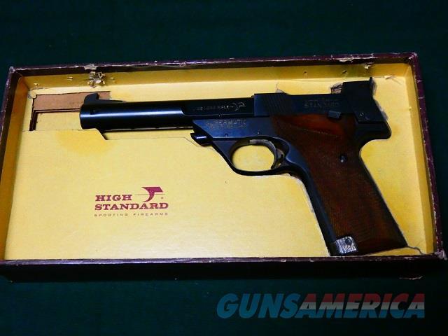 Hi Standard model 107  Guns > Pistols > High Standard Pistols