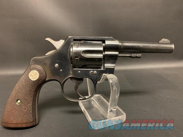"Colt Official Police ""Customs""  Guns > Pistols > Colt Double Action Revolvers- Modern"