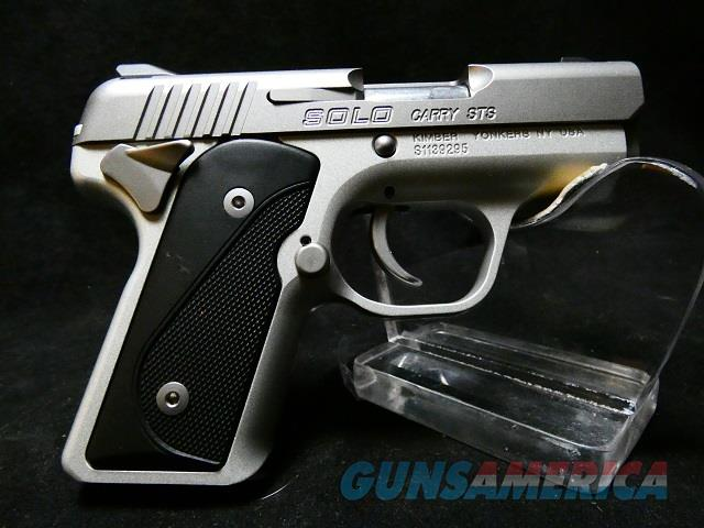 Kimber Solo  Guns > Pistols > Kimber of Oregon Pistols