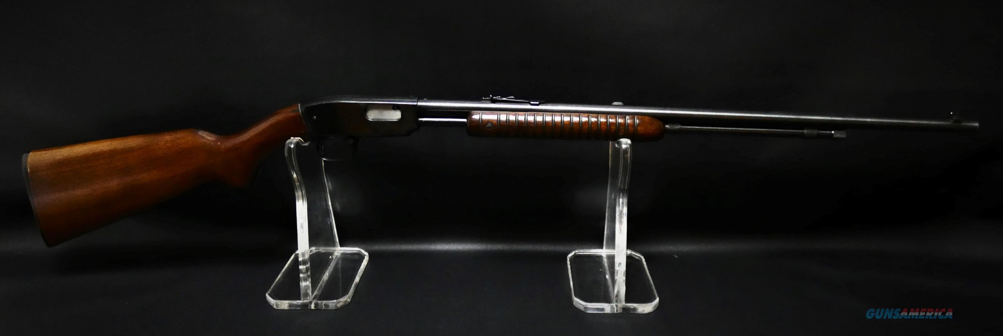 """Winchester Model 61 Pump Action .22 S,L,LR Blue 24"""" BBL  Guns > Rifles > Winchester Rifles - Modern Pump"""