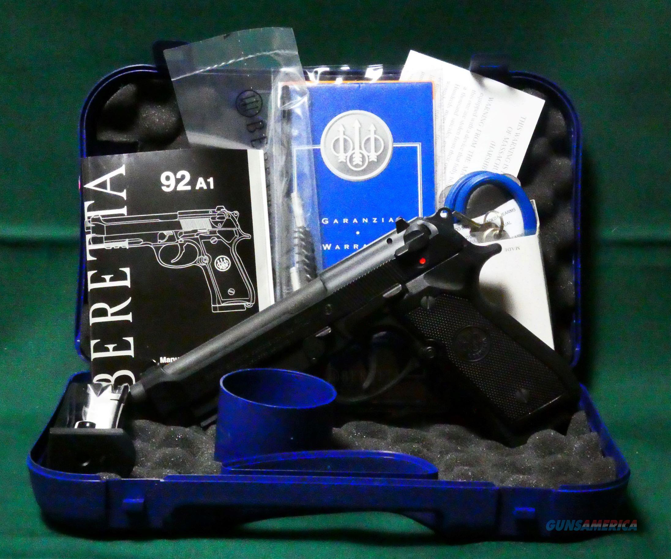 """Beretta Pistol Model 96A1 .40 S&W 5"""" BBL  Guns > Pistols > Beretta Pistols > Model 96 Series"""