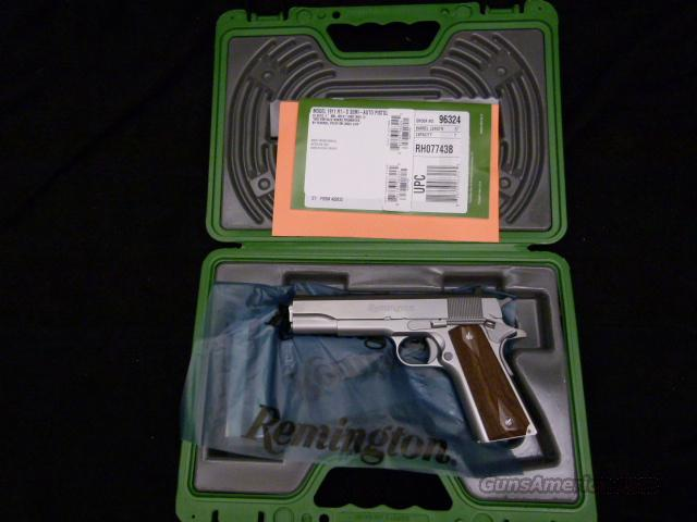 Remington 1911 R-1 Stainless 45 ACP Brand New and Priced to Sell  Guns > Pistols > Bushmaster Pistols