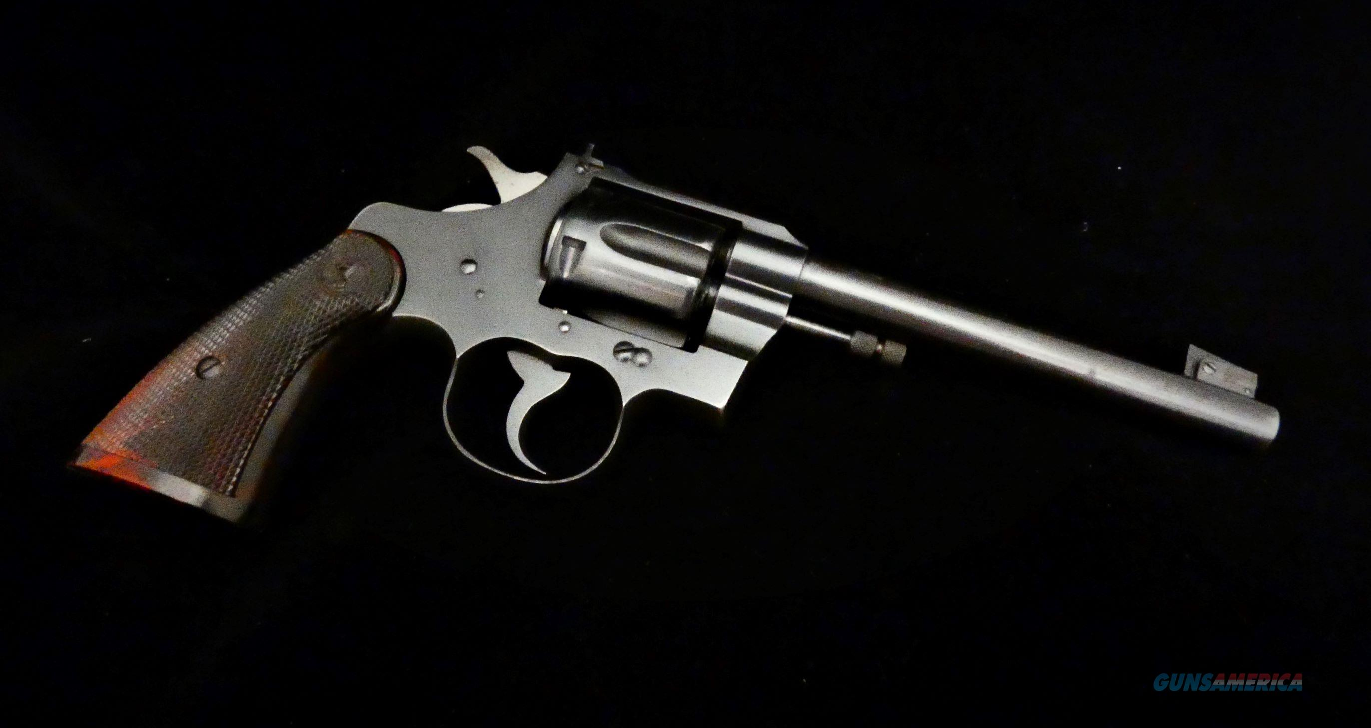 "Colt Officer's Model Target Revolver .22 LR 6"" BBL  Guns > Pistols > Colt Double Action Revolvers- Modern"