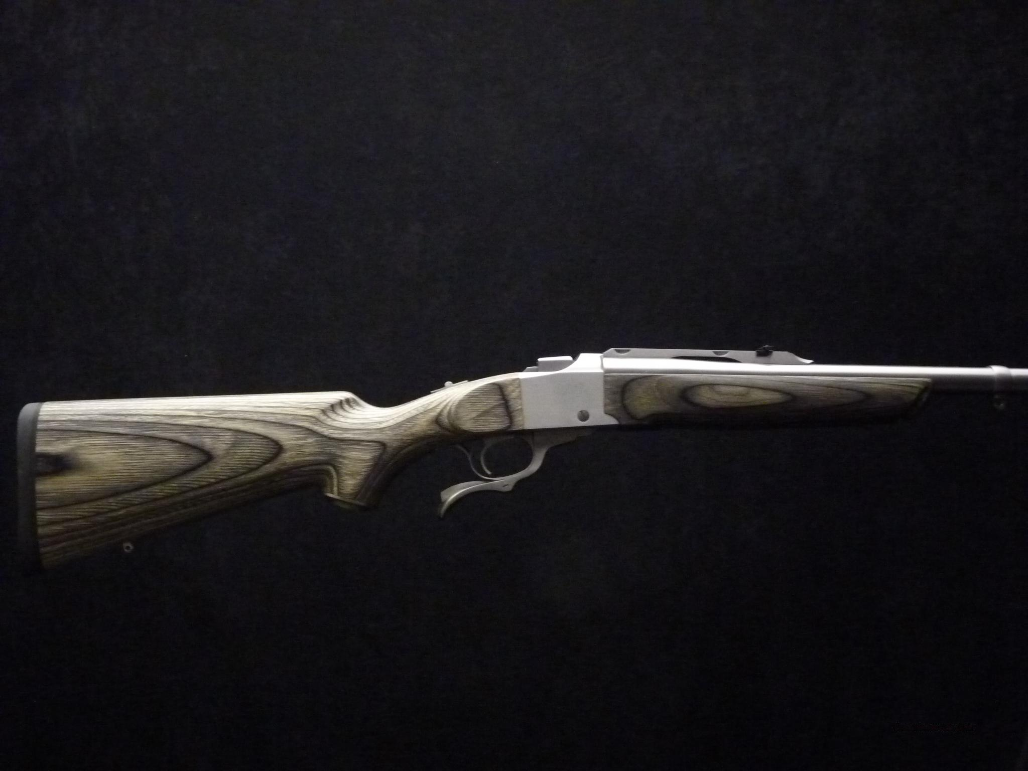 Ruger No 1 405 Win Stainless Laminated NIB  Guns > Rifles > Ruger Rifles > #1 Type