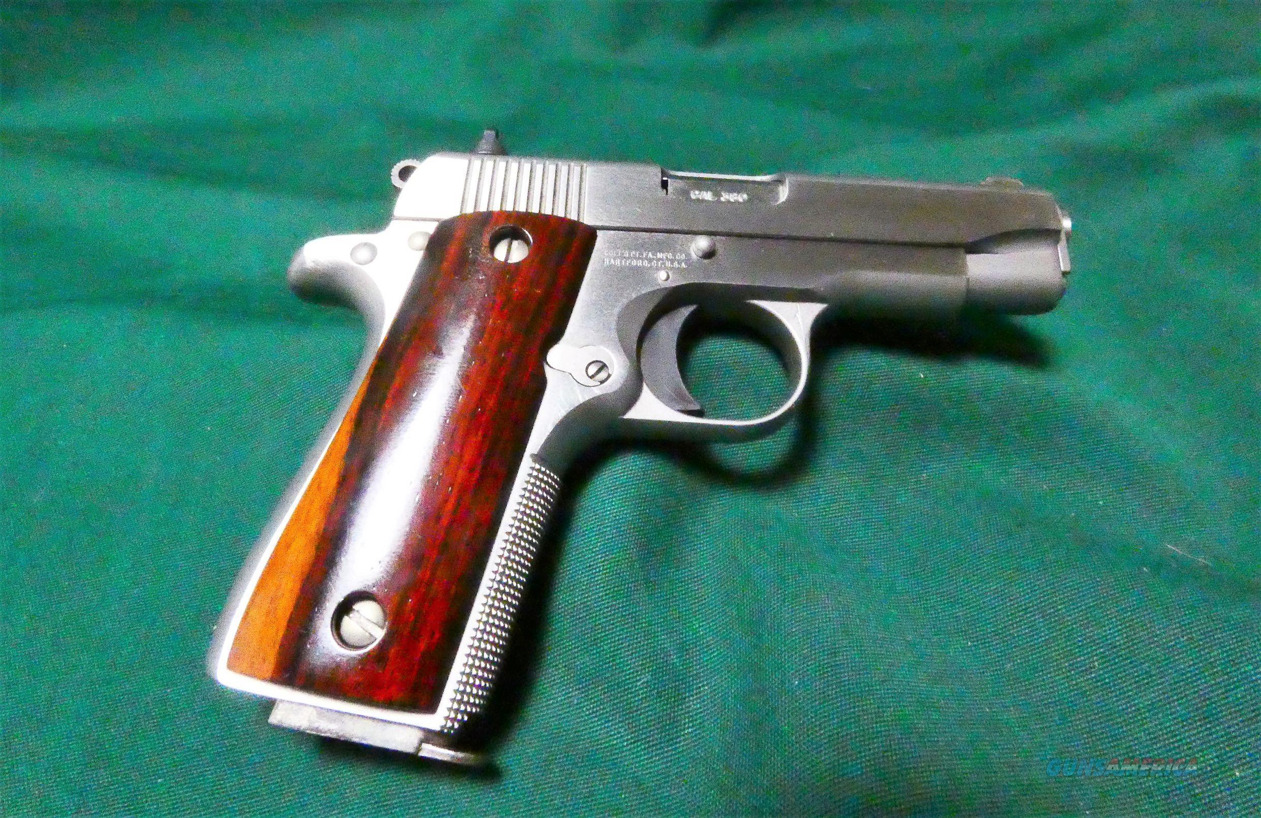 "Colt Government Model Cogan Custom .380 Auto 3"" BBL Stainless Finish  Guns > Pistols > Colt Automatic Pistols (.25, .32, & .380 cal)"