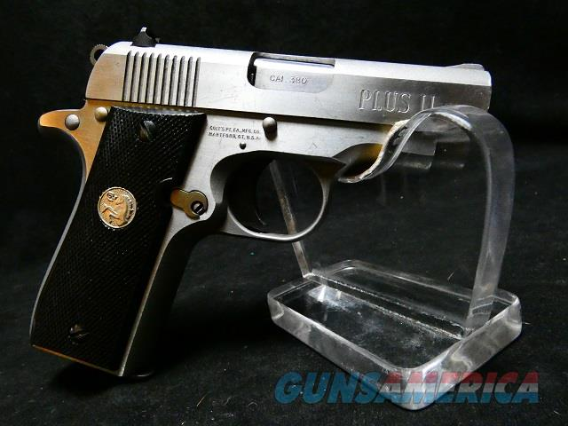 Colt Mustang Plus II  Guns > Pistols > Colt Automatic Pistols (.25, .32, & .380 cal)