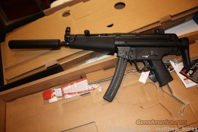 HK MP5 in 22 lr NIB  Guns > Rifles > Heckler & Koch Rifles > Tactical