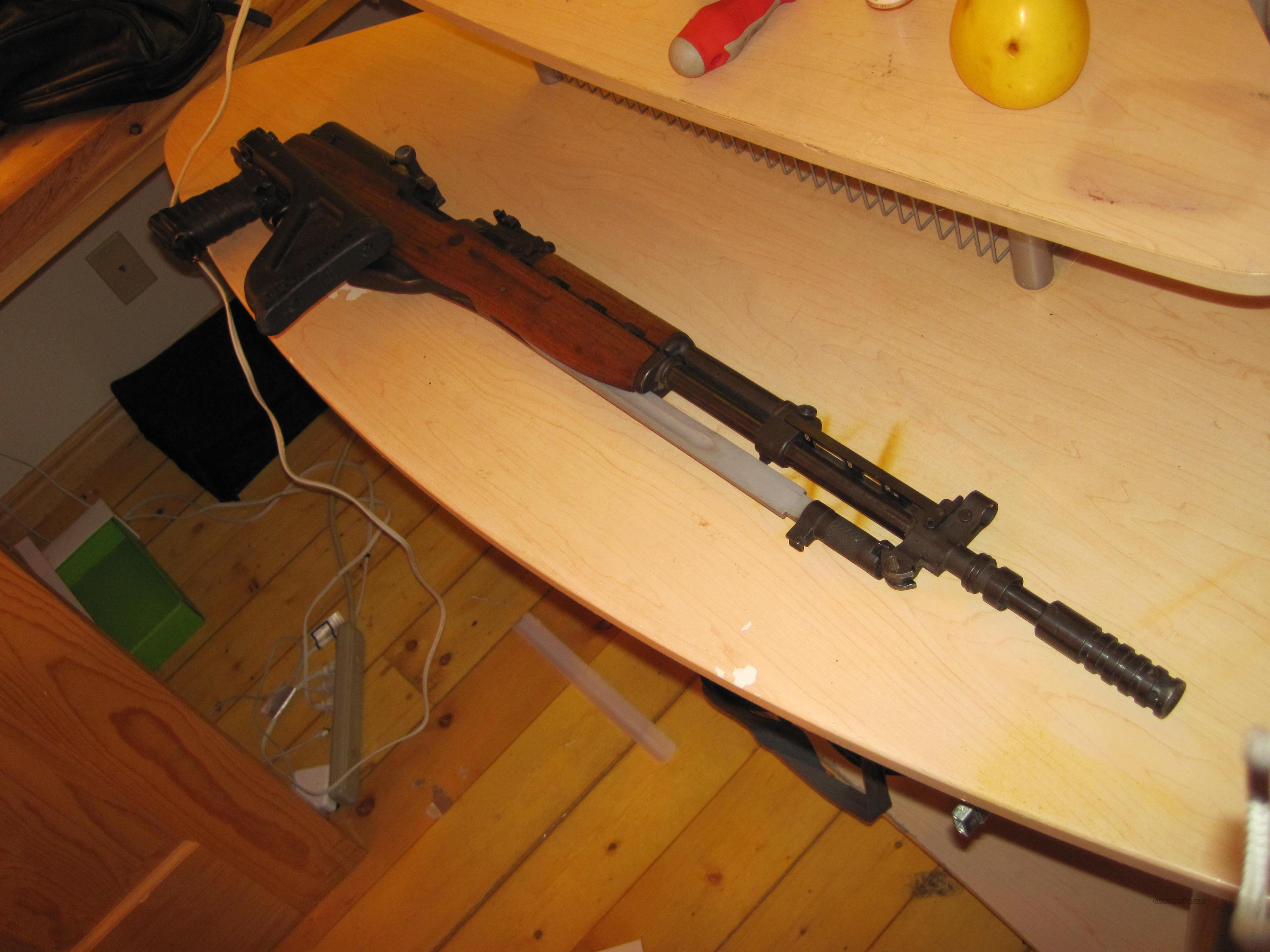 Yugo SKS w/ Fold stock pistol grip and 30rd magazine  Guns > Rifles > SKS Rifles