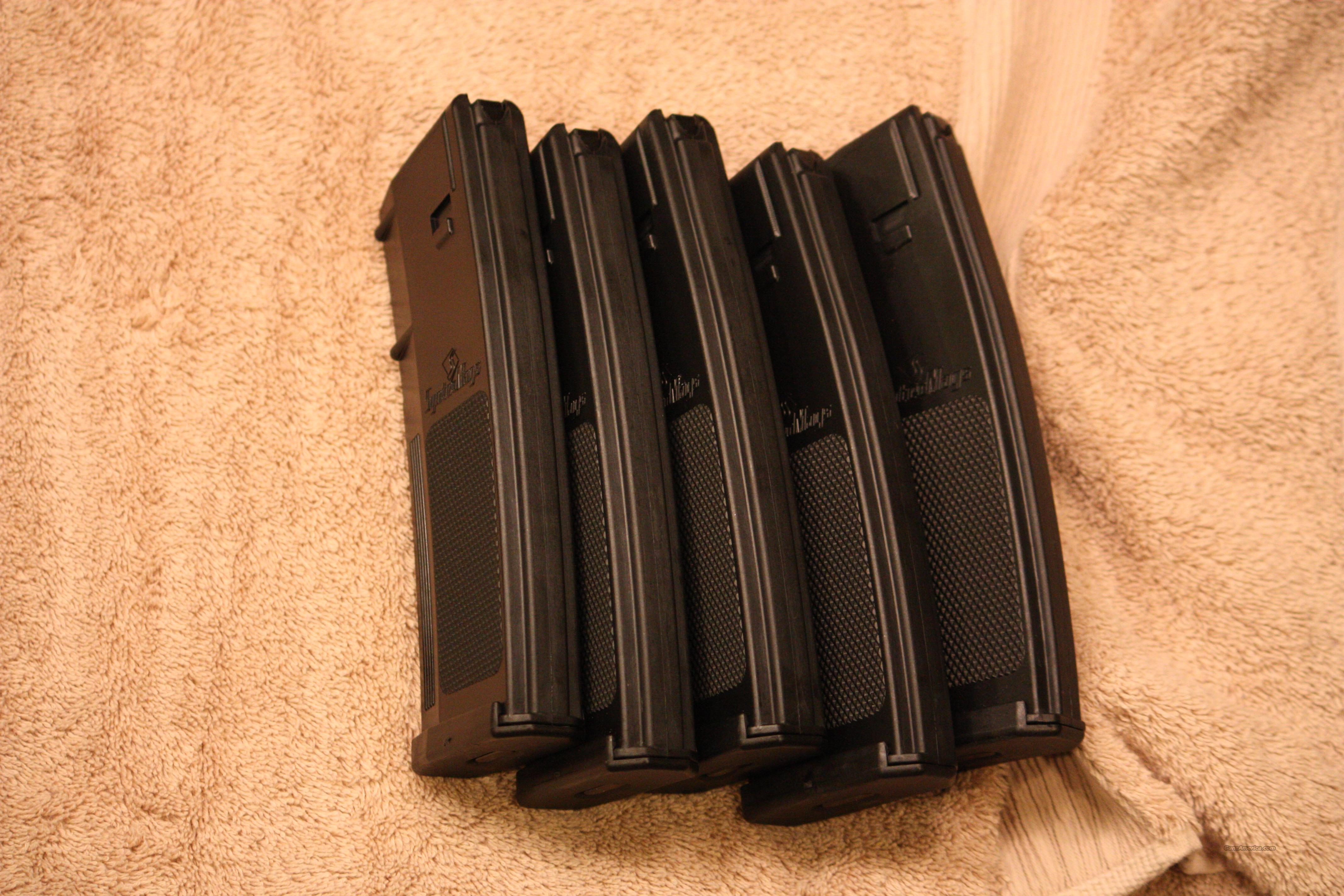 5 New AR-15 30rd Magazine clips, Not Magpul  Non-Guns > Magazines & Clips > Rifle Magazines > AR-15 Type