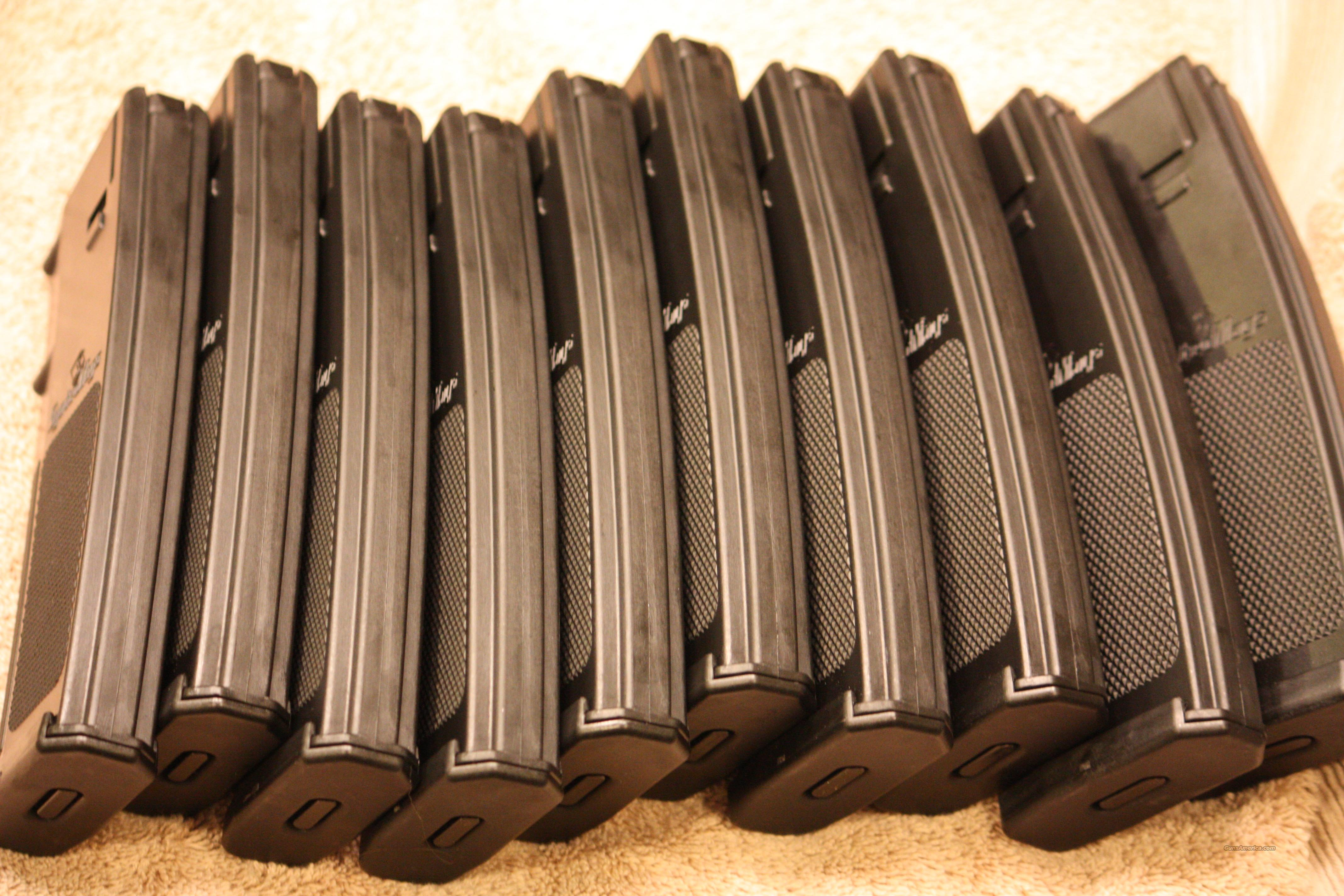 10 New .223 AR-15 30rd Magazine clips, Not Magpul  Non-Guns > Magazines & Clips > Rifle Magazines > AR-15 Type