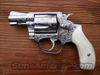 S&W Model 60 stainless fully engraved  Guns > Pistols > Smith & Wesson Revolvers > Pocket Pistols