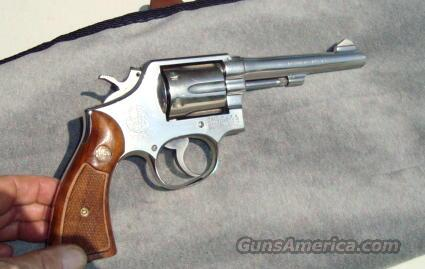 "Smith & Wesson 10-5 ""Detroit Police"" Marked  Guns > Pistols > Smith & Wesson Revolvers > Model 10"