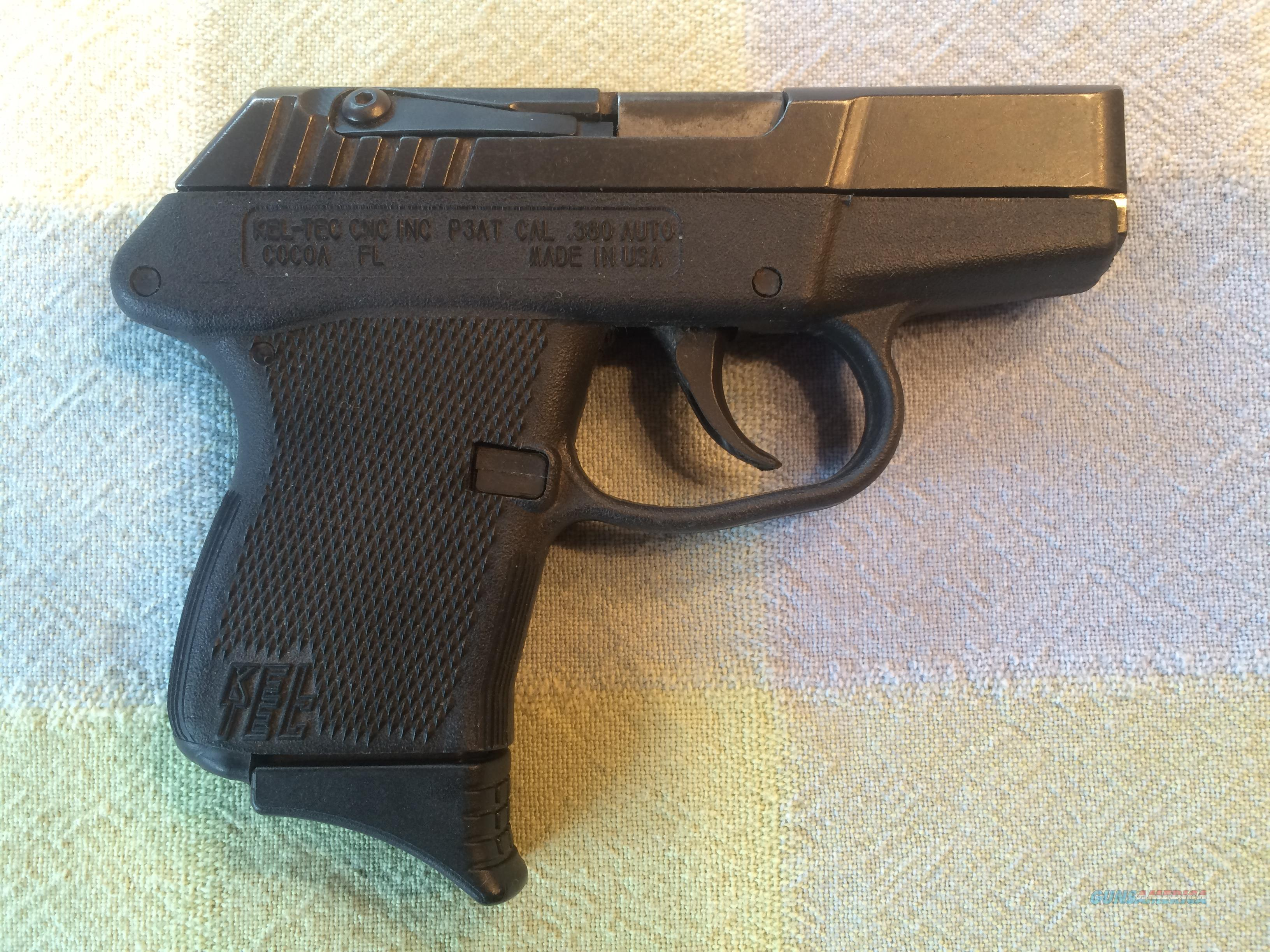 KEL-TEC - MODEL P3AT - .380 SEMI-AUTO - EXTENDED CLIP - USED  Guns > Pistols > Kel-Tec Pistols > Pocket Pistol Type
