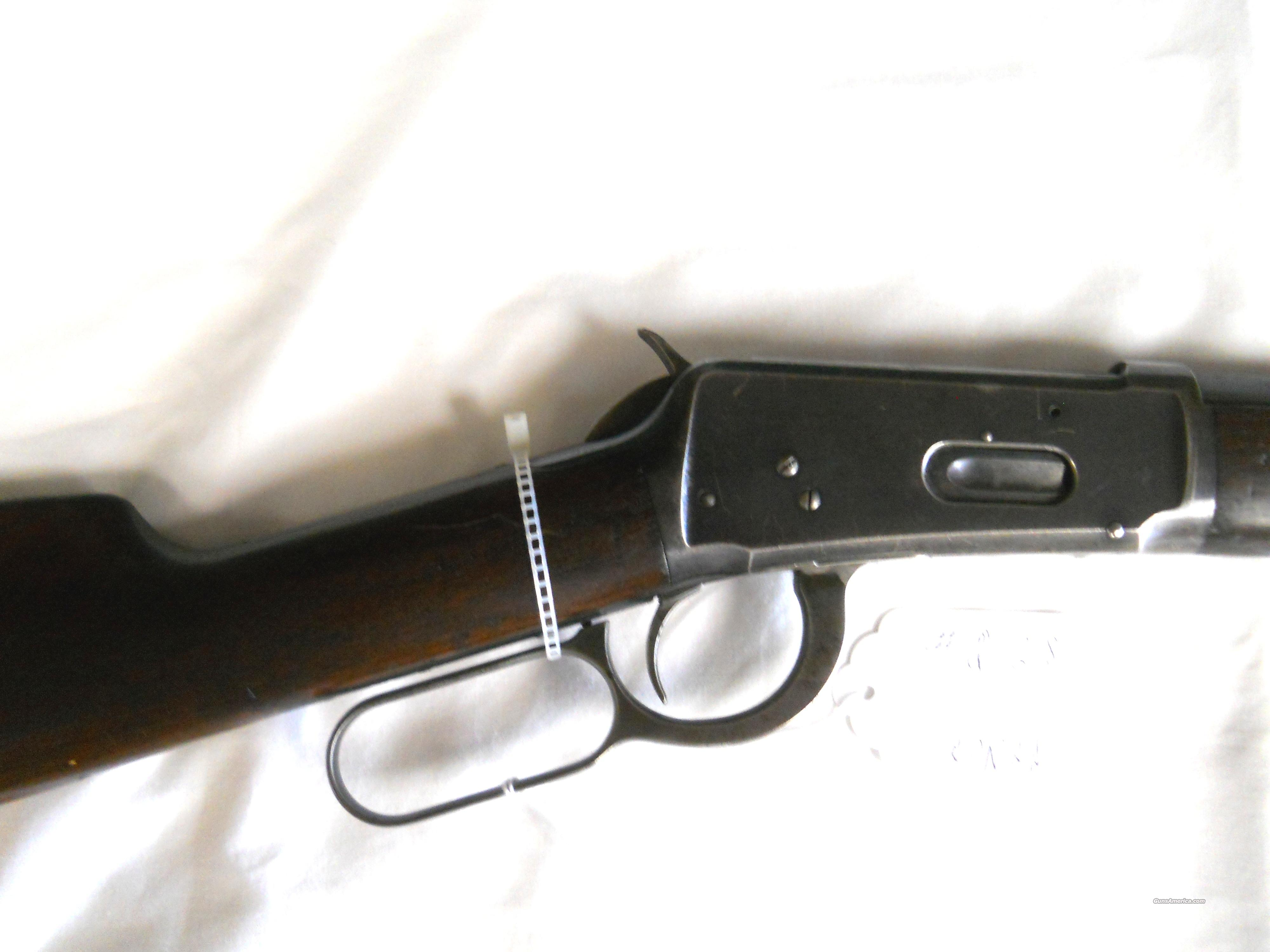 1894 WINCHESTER - MFG 1907 - OCTAGON BARREL - .30-30 LEVER ACTION RIFLE  Guns > Rifles > Winchester Rifles - Pre-1899 Lever
