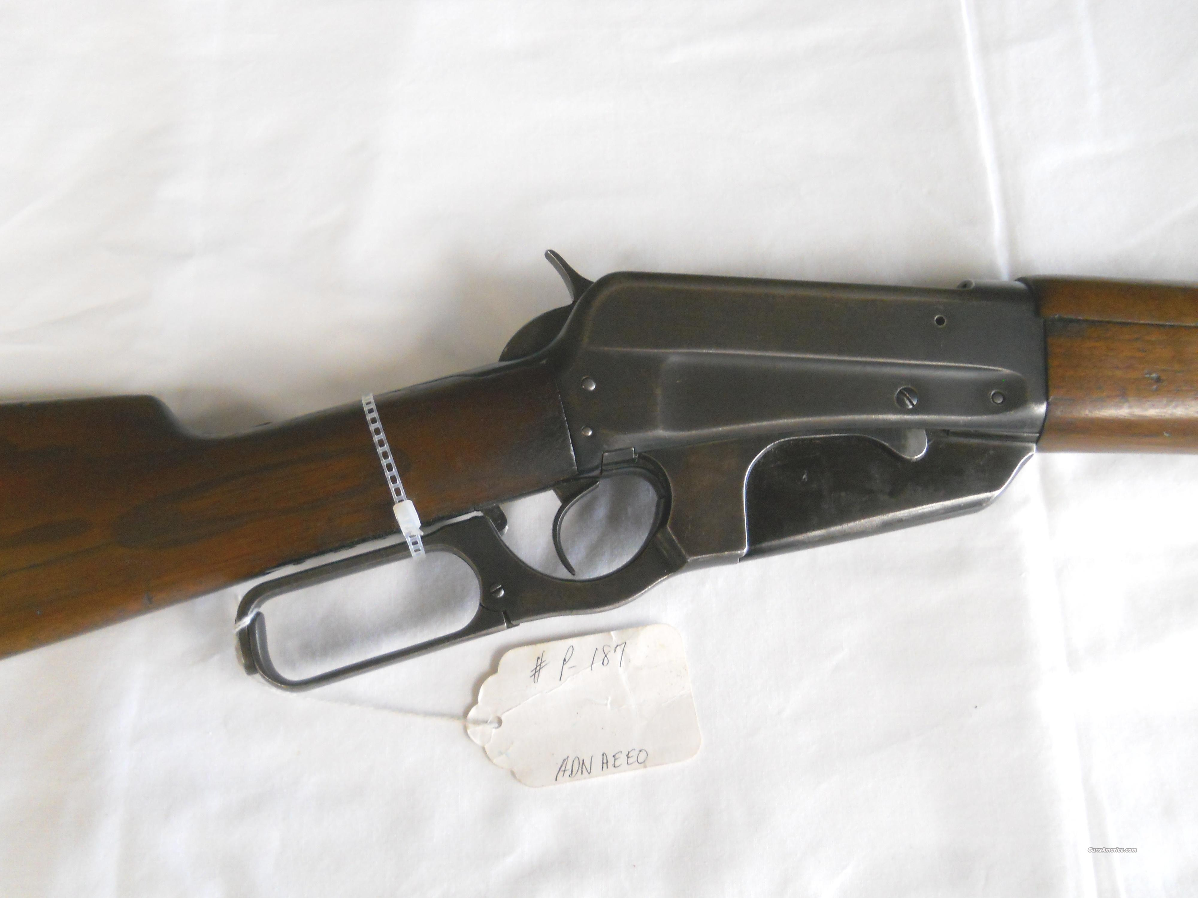 WINCHESTER MODEL 1895 .30-06 LEVER ACTION RIFLE  Guns > Rifles > Winchester Rifles - Pre-1899 Lever