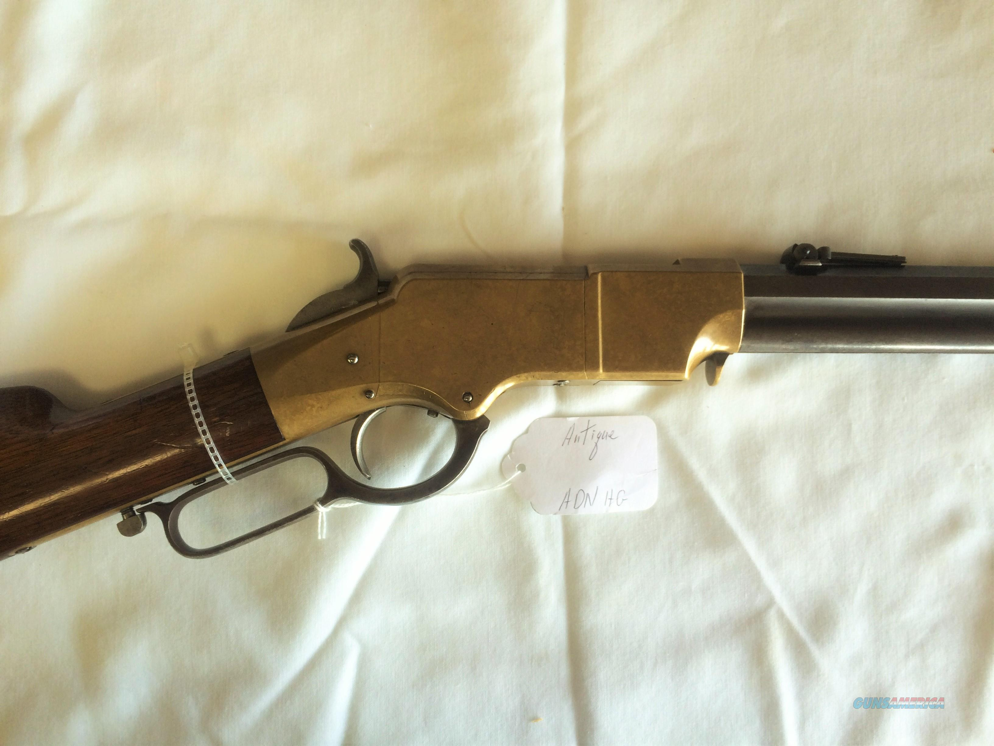 HENRY 1864 .44 RIM FIRE LEVER ACTION RIFLE  Guns > Rifles > Henry Rifles - Pre-1899