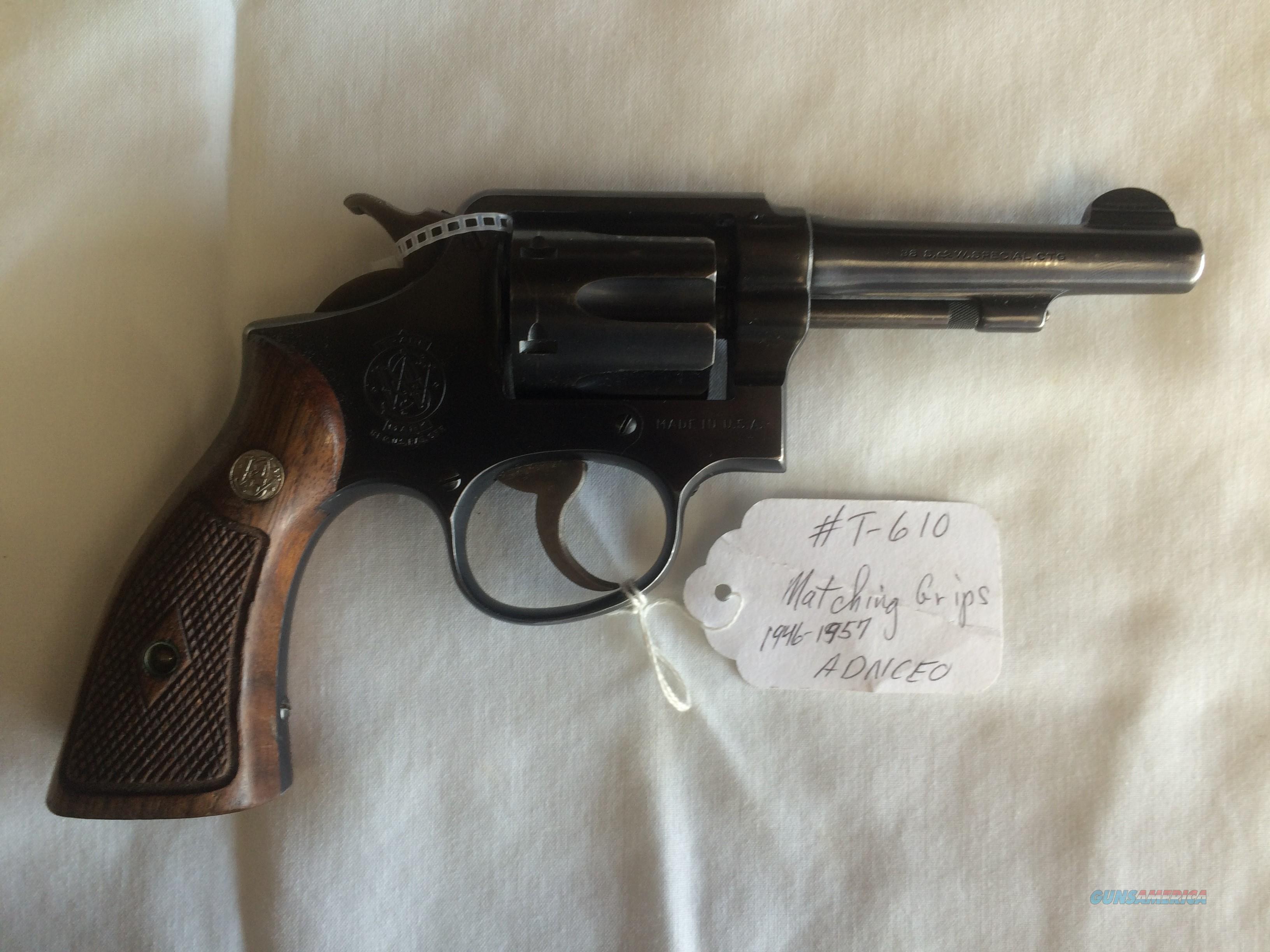 SMITH & WESSON PRE MODEL 10 .38 SPECIAL REVOLVER  Guns > Pistols > Smith & Wesson Revolvers > Model 10