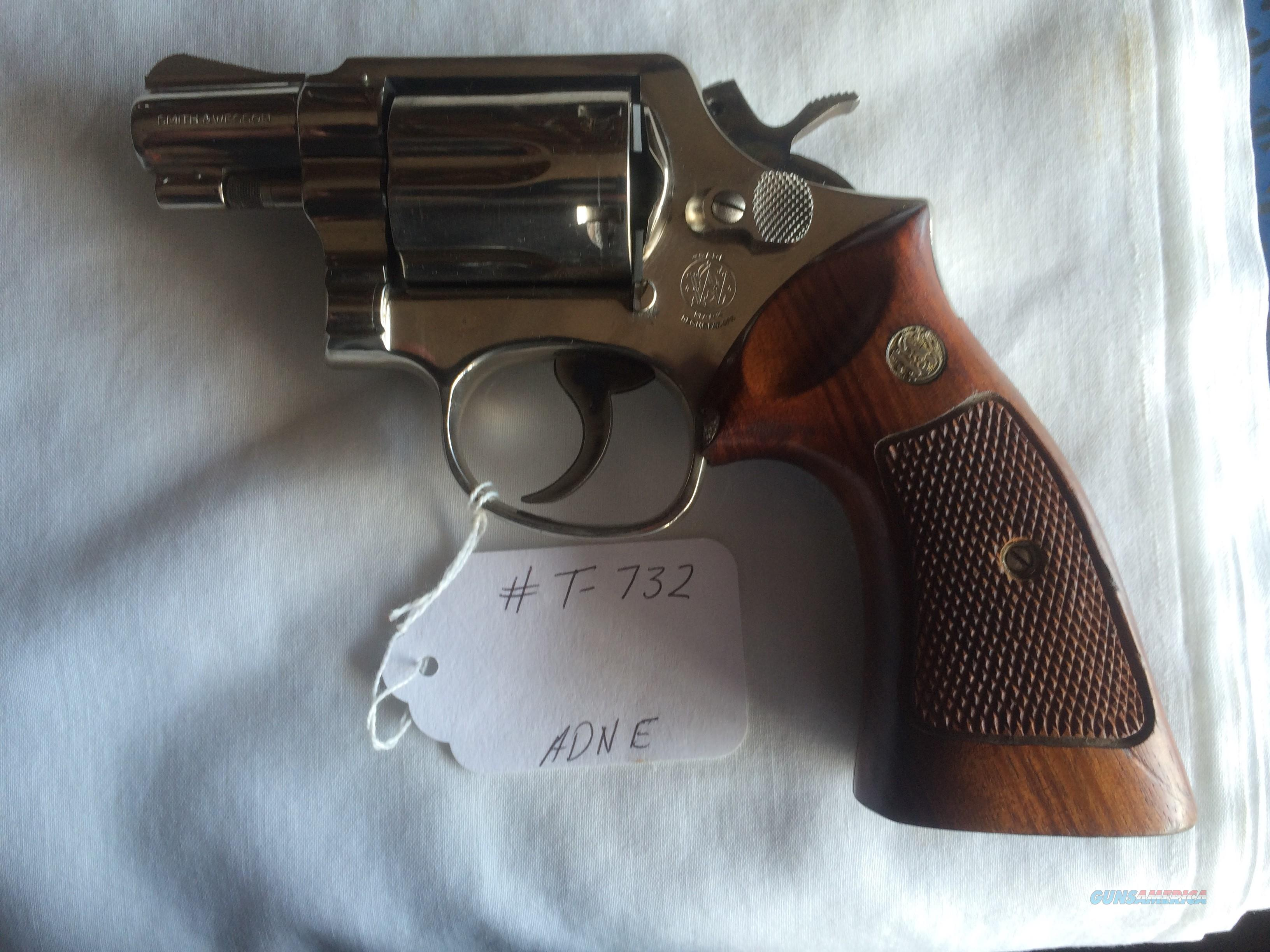 SMITH & WESSON MODEL 12 AIRWEIGHT .38 SPECIAL REVOLVER  Guns > Pistols > Smith & Wesson Revolvers > Med. Frame ( K/L )