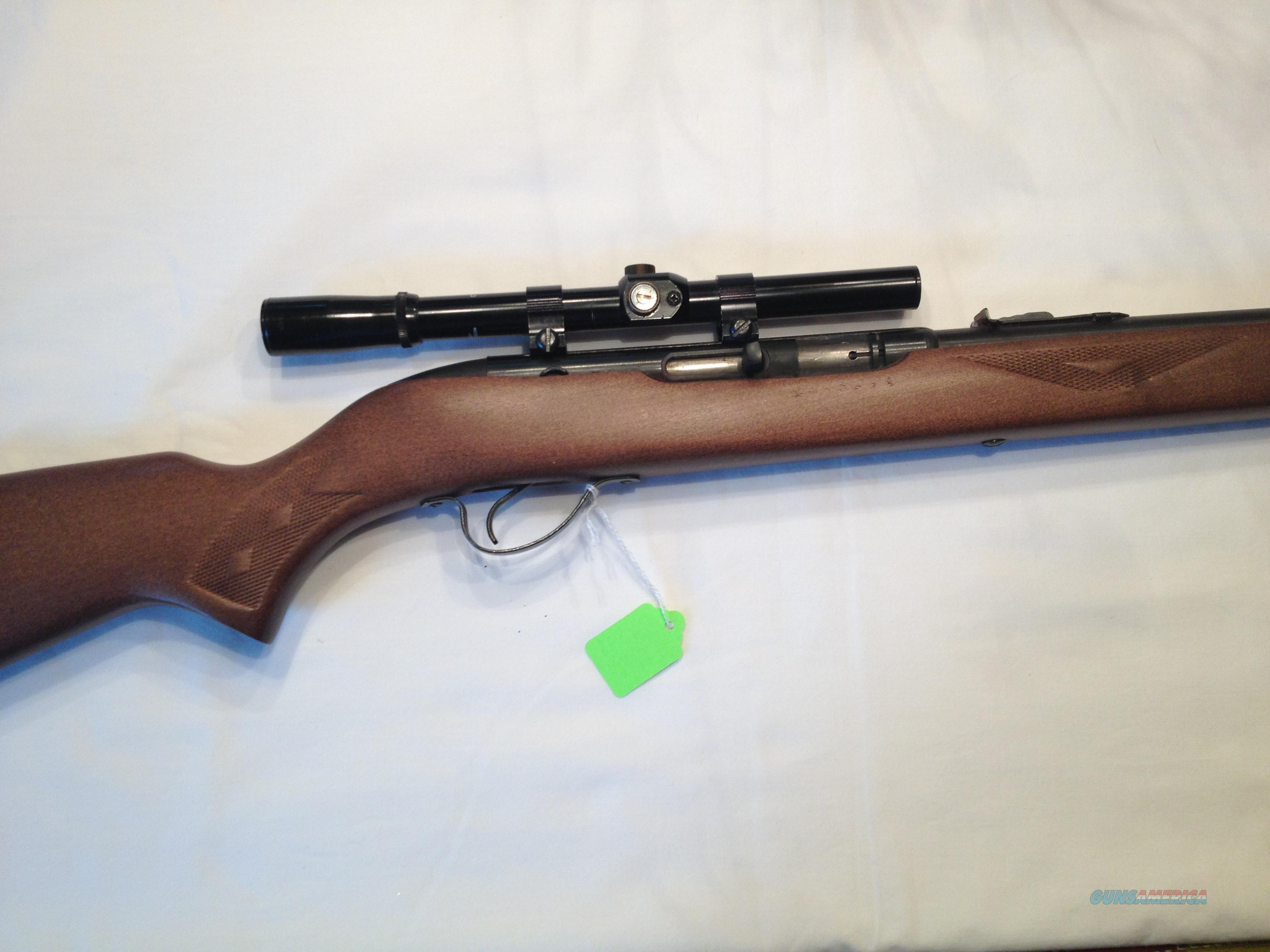 PRICE REDUCED!! SAVAGE HIAWATHA MODEL 587 .22 CAL. SEMI-AUTO RIFLE WITH SCOPE  Guns > Rifles > Savage Rifles > Other