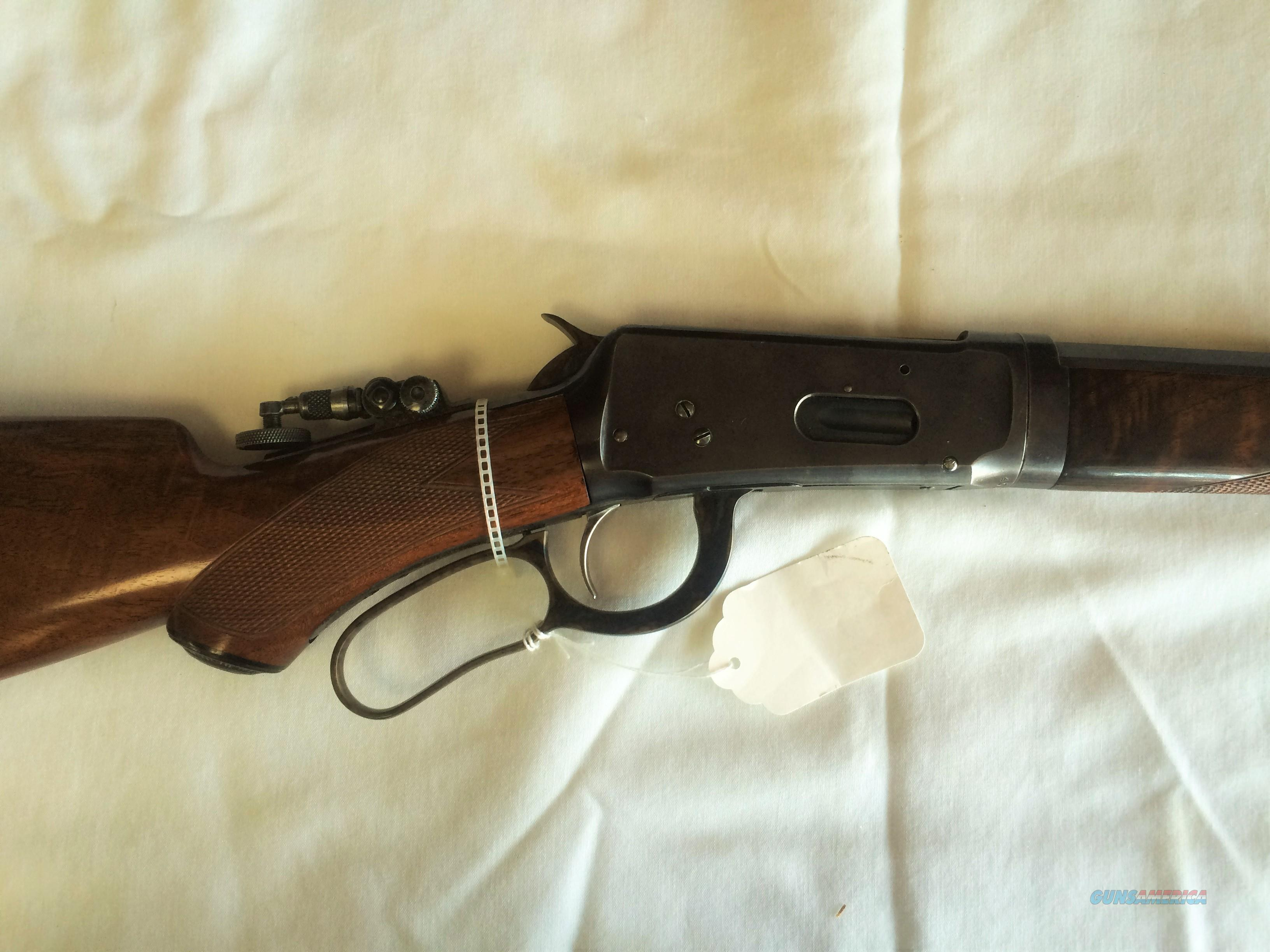 WINCHESTER MODEL 94 DELUXE .30-30 LEVER ACTION RIFLE - NICE!!  Guns > Rifles > Winchester Rifles - Modern Lever > Model 94 > Pre-64