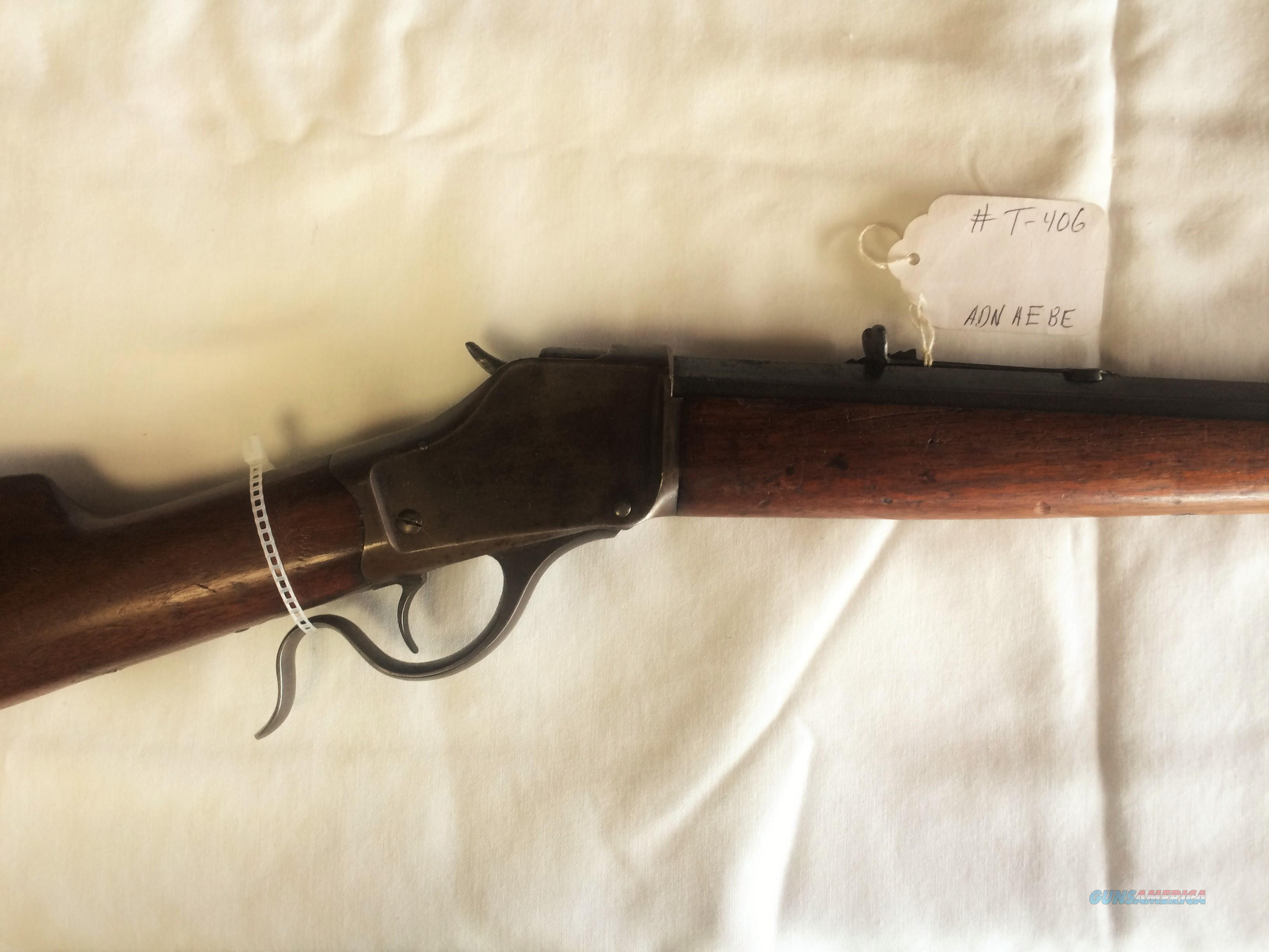 WINCHESTER 1885 HIGHWALL .32-40 FALLING BLOCK RIFLE  Guns > Rifles > Winchester Rifles - Modern Bolt/Auto/Single > Single Shot