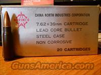 NORINCO 7.62X39MM AMMO 340 ROUNDS/153.00  Non-Guns > Ammunition
