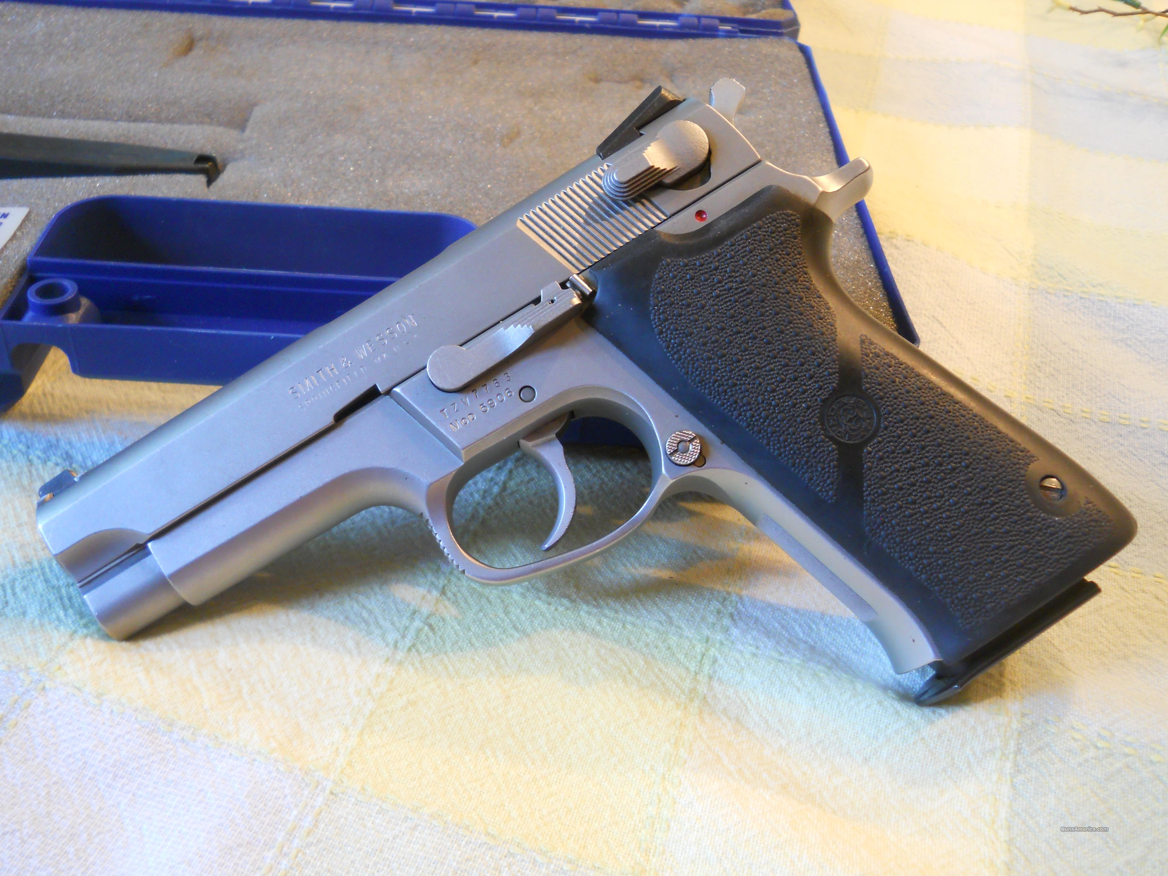 Ez Credit Auto Sales >> S&W .9MM 5906 MATTE STAINLESS SEMI-AUTO PISTOL for sale