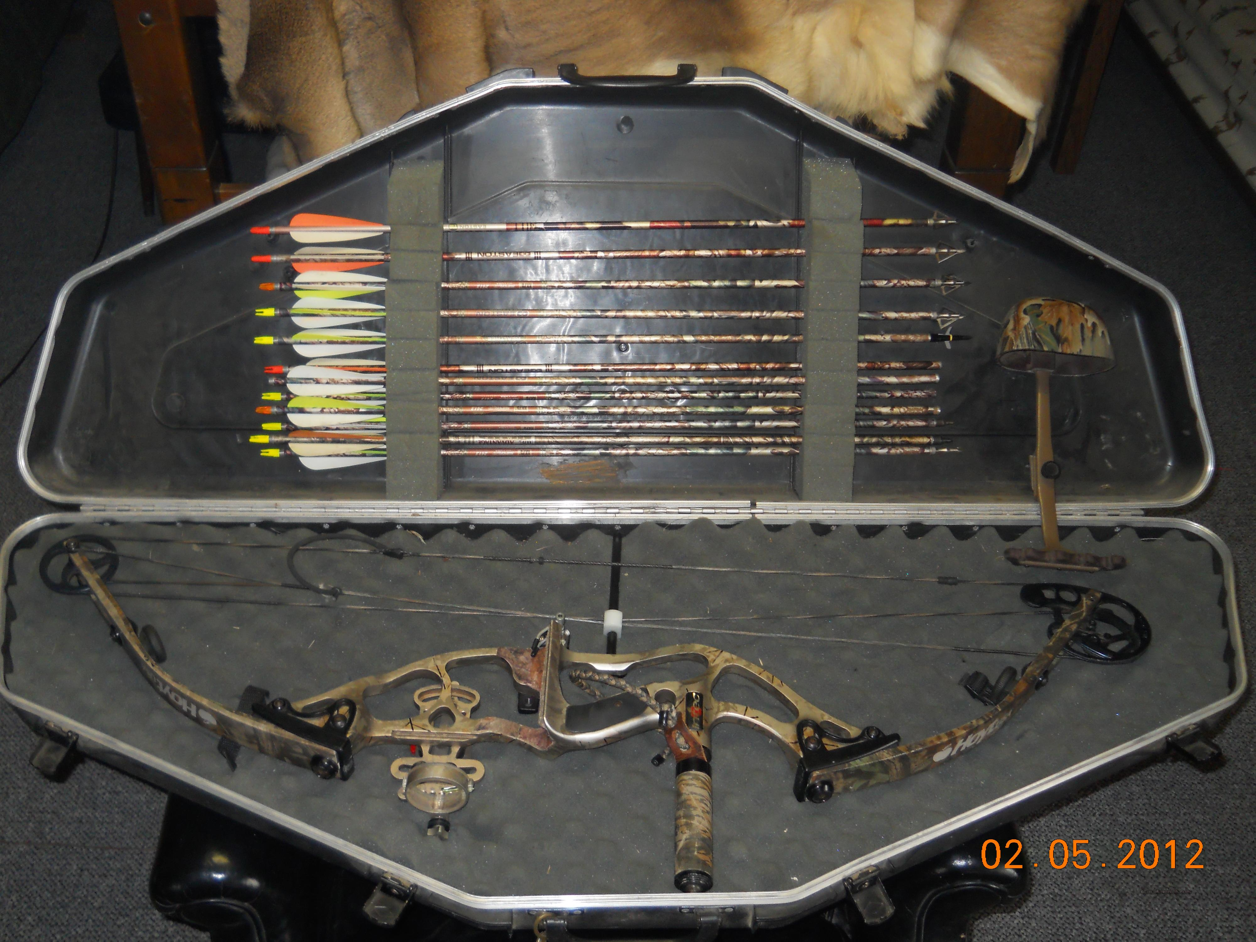 HOYT INTEC COMPOUND BOW PACKAGE  Non-Guns > Archery > Bows > Compound