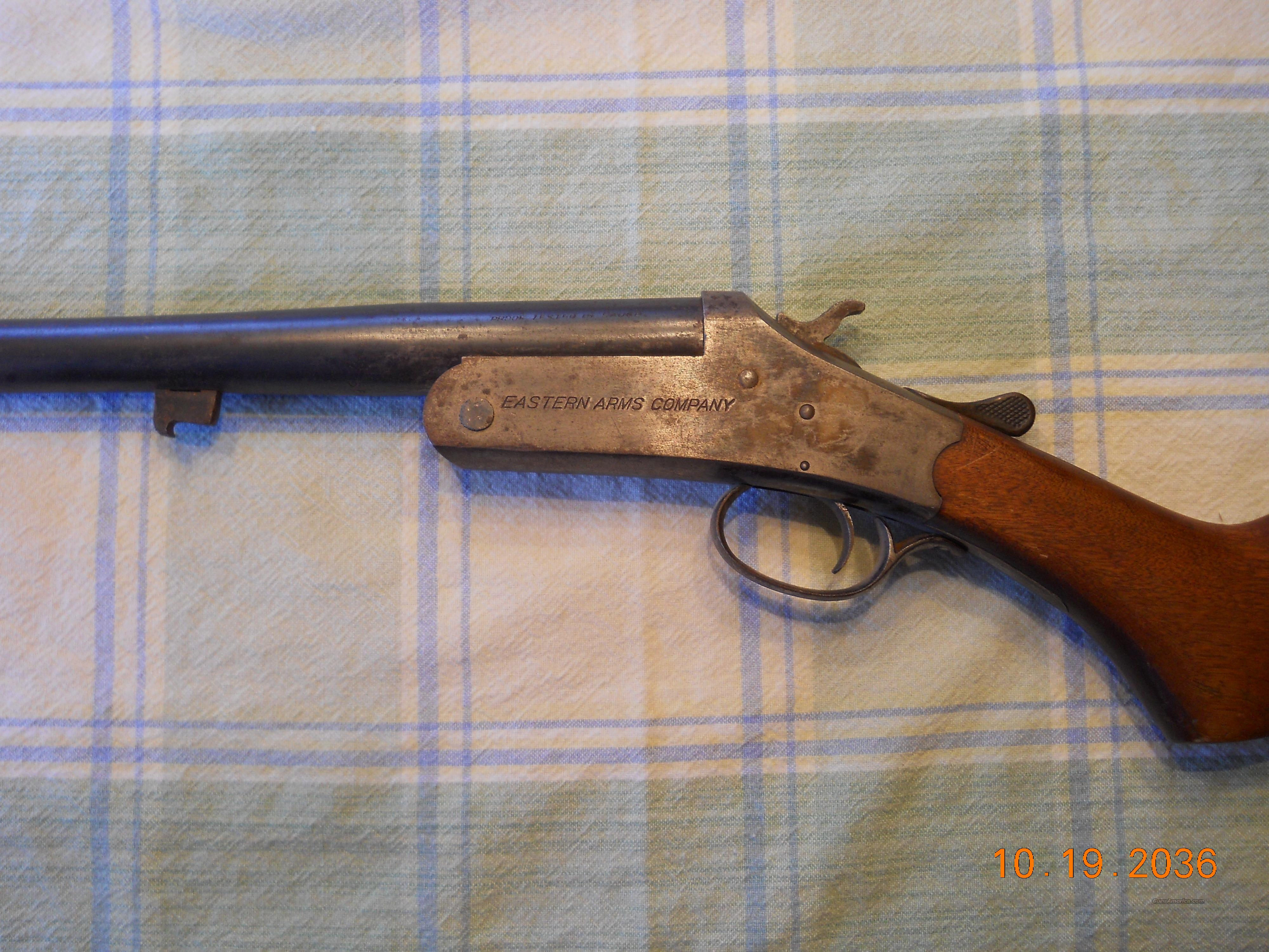 EASTERN ARMS COMPANY (STEVENS) .16 GUAGE SINGLE SHOT SHOTGUN  Guns > Shotguns > E Misc Shotguns