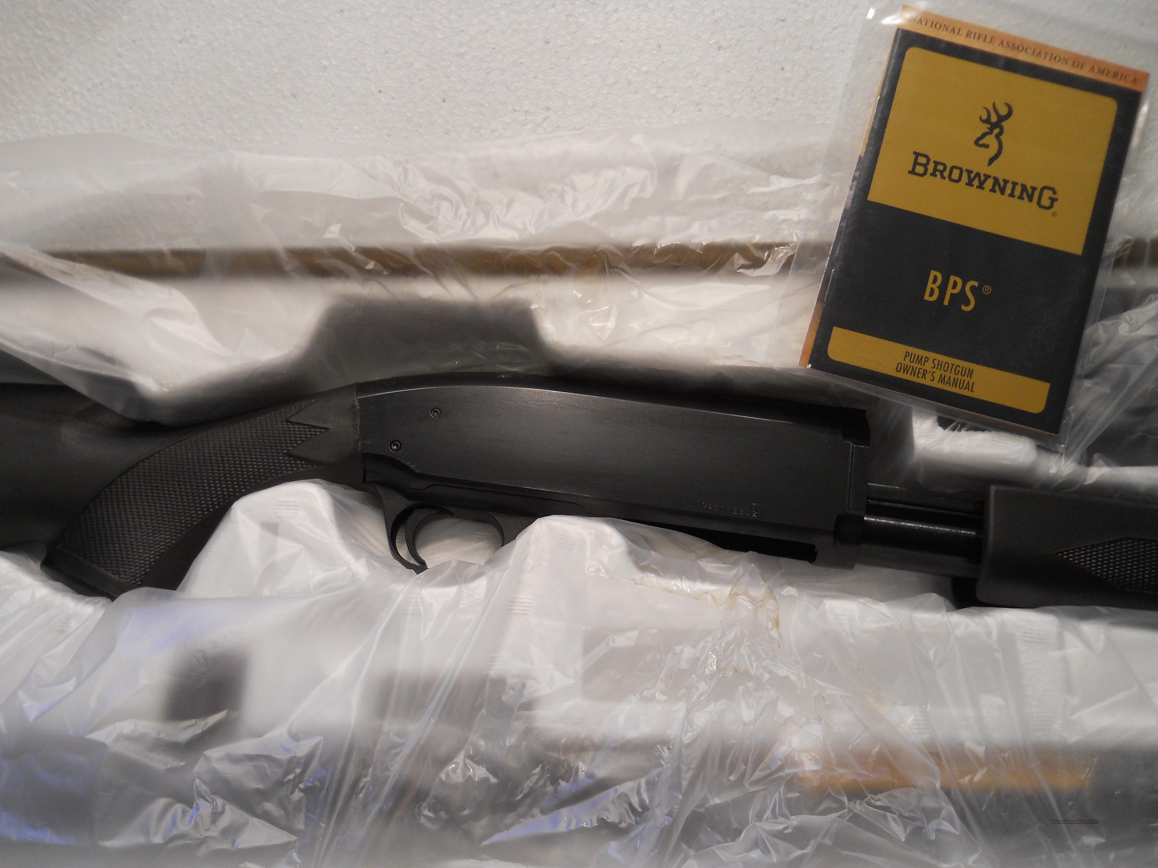 NIB!! BROWNING BPS STALKER .12 GA. PUMP SHOTGUN  Guns > Shotguns > Browning Shotguns > Pump Action > Hunting