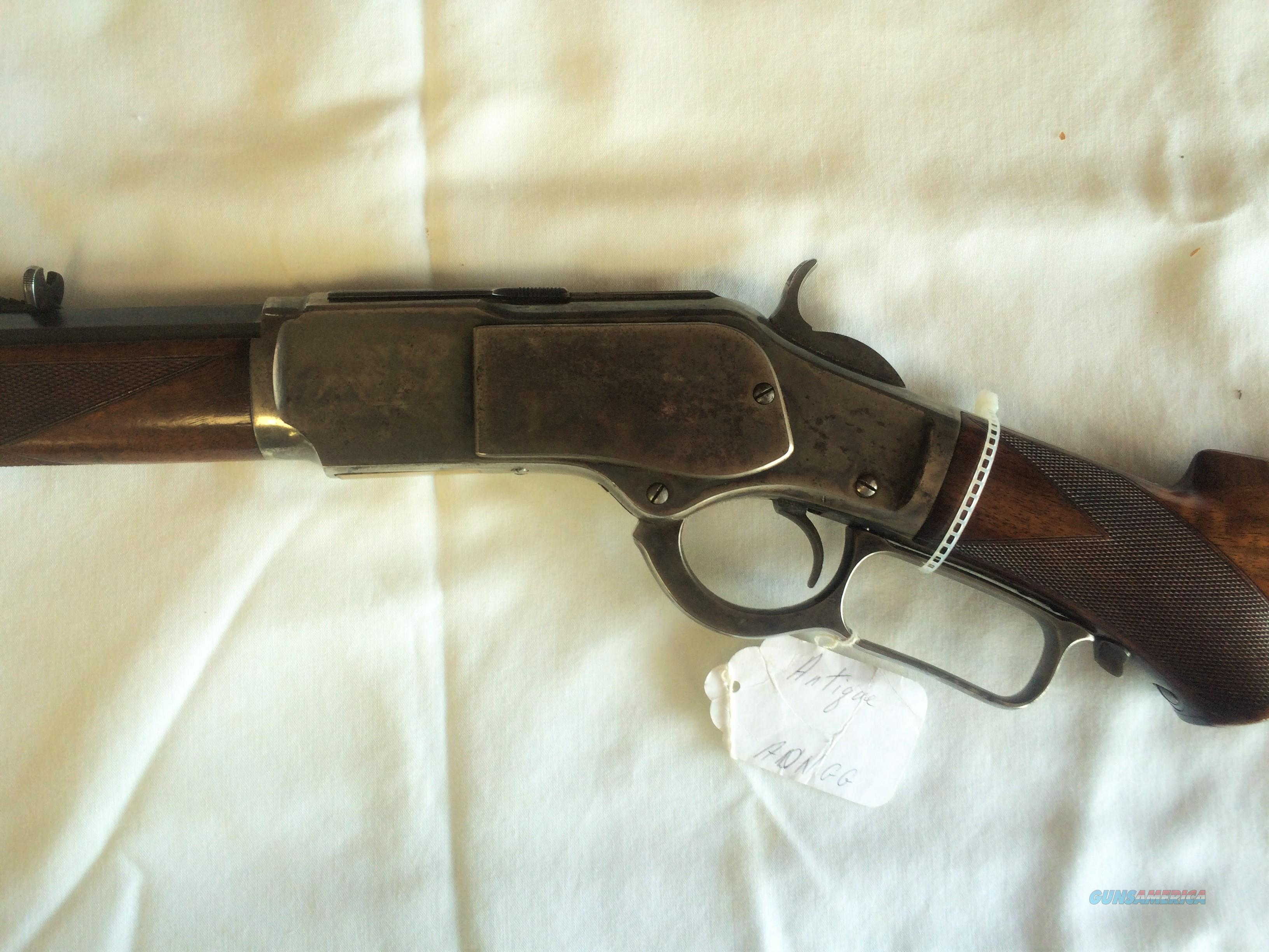 WINCHESTER 1873 DELUXE .38-40 LEVER ACTION RIFLE  Guns > Rifles > Winchester Rifles - Pre-1899 Lever
