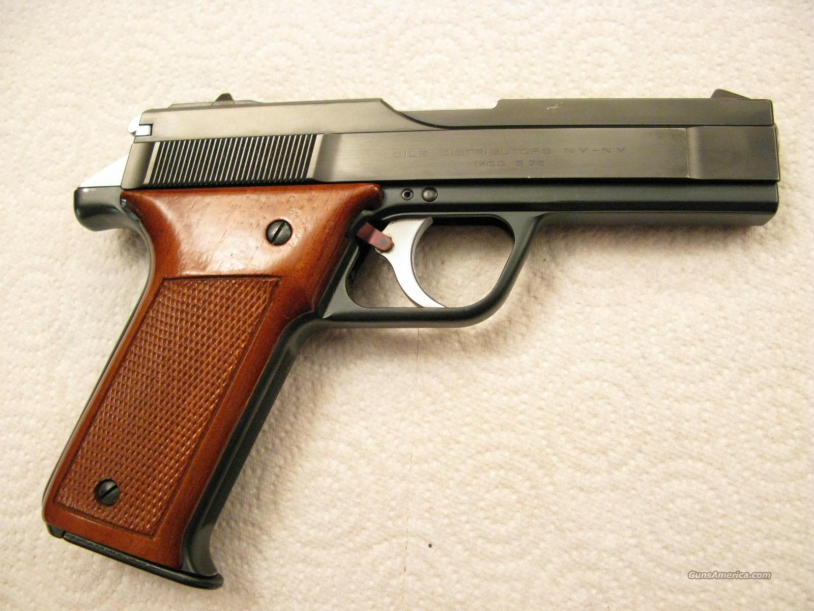 Benelli B 76  9MM Combat and Sporting Pistol N.Y - N.Y. Address  Guns > Pistols > Benelli Pistols