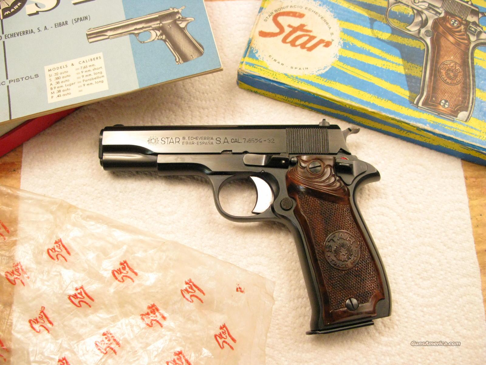 star model si 32 acp new in box for sale rh gunsamerica com Old Gun Manuals Bostitch Nail Gun Manual
