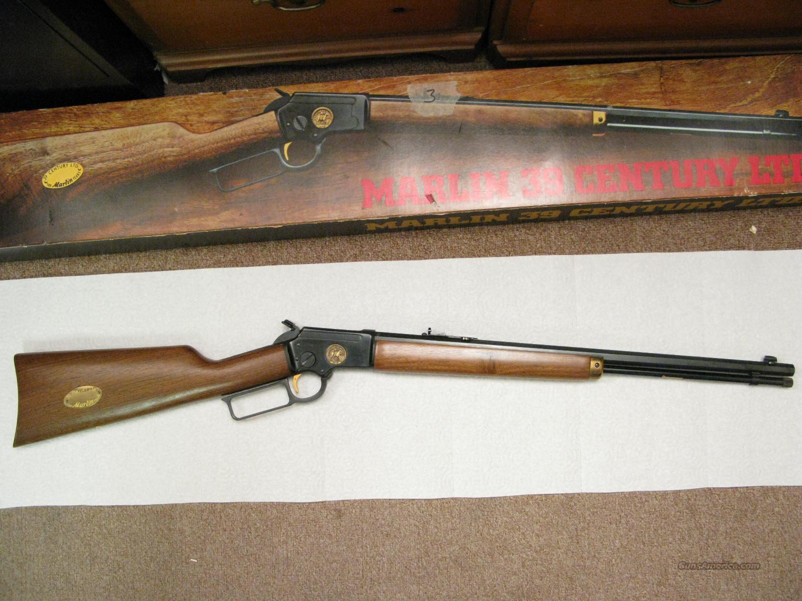 M-39 Century LTD. .22 S.L,Lr  Octagon Barrel New In Box from 1970  Guns > Rifles > Marlin Rifles > Modern > Lever Action