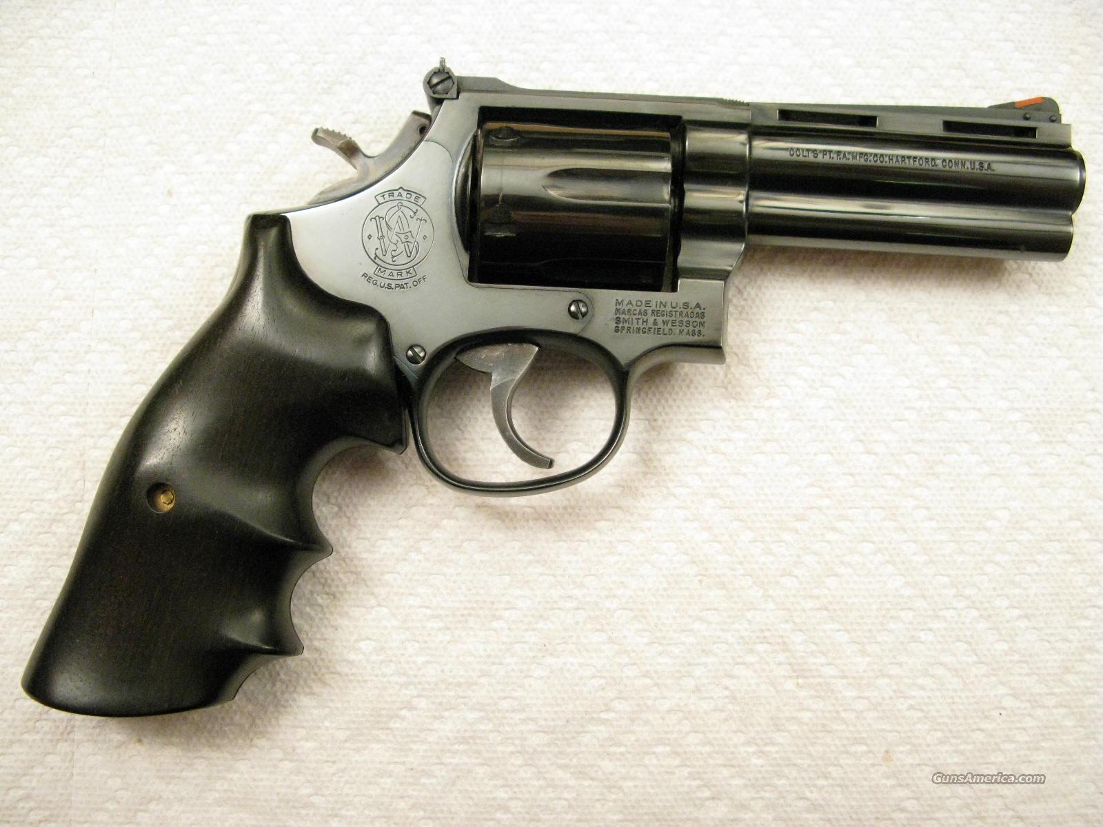 M 586 4 Quot 357 Magnum Colt Python Vent Rib Barre For Sale