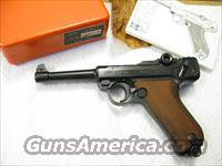 Luger .22 LR Erma Made in West Germany  Luger Pistols