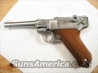 "Luger 9mm Stoeger American Eagle 4"" Stainless Steel  Guns > Pistols > Luger Pistols"