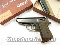 PPK-L .22LR Dural Frame  All German Made from 1968 New In Box  Guns > Pistols > Walther Pistols > Post WWII > PP Series