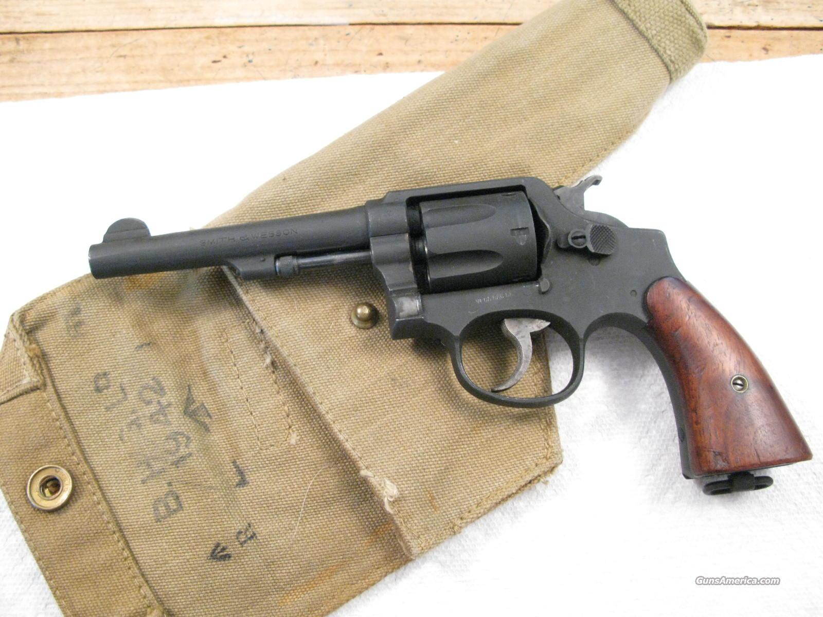"S&W Victory 5"" .38 S&W Cal. U.S. Property  and British Marked WWII With Holster  Guns > Pistols > Military Misc. Pistols US > Other"