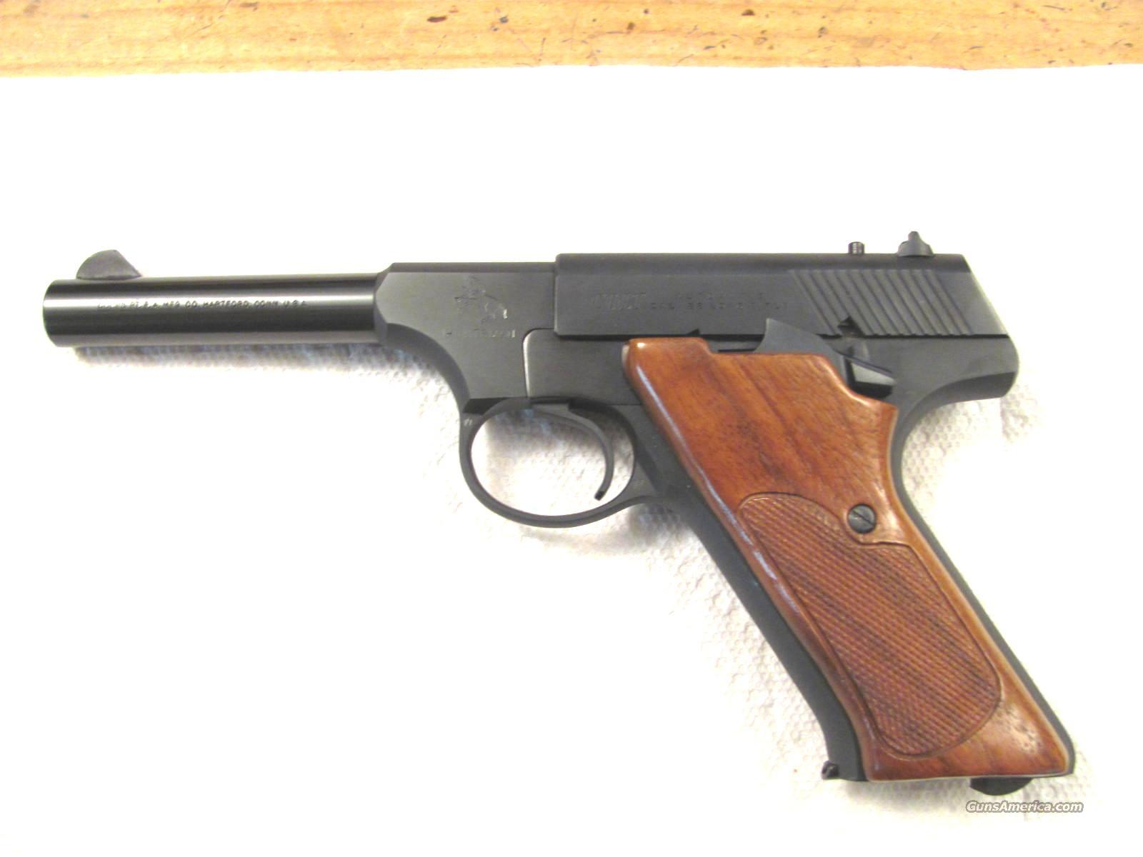 "Huntsman 4 1/2"" .22 LR Brand New And Unfired   Guns > Pistols > Colt Automatic Pistols (22 Cal.)"