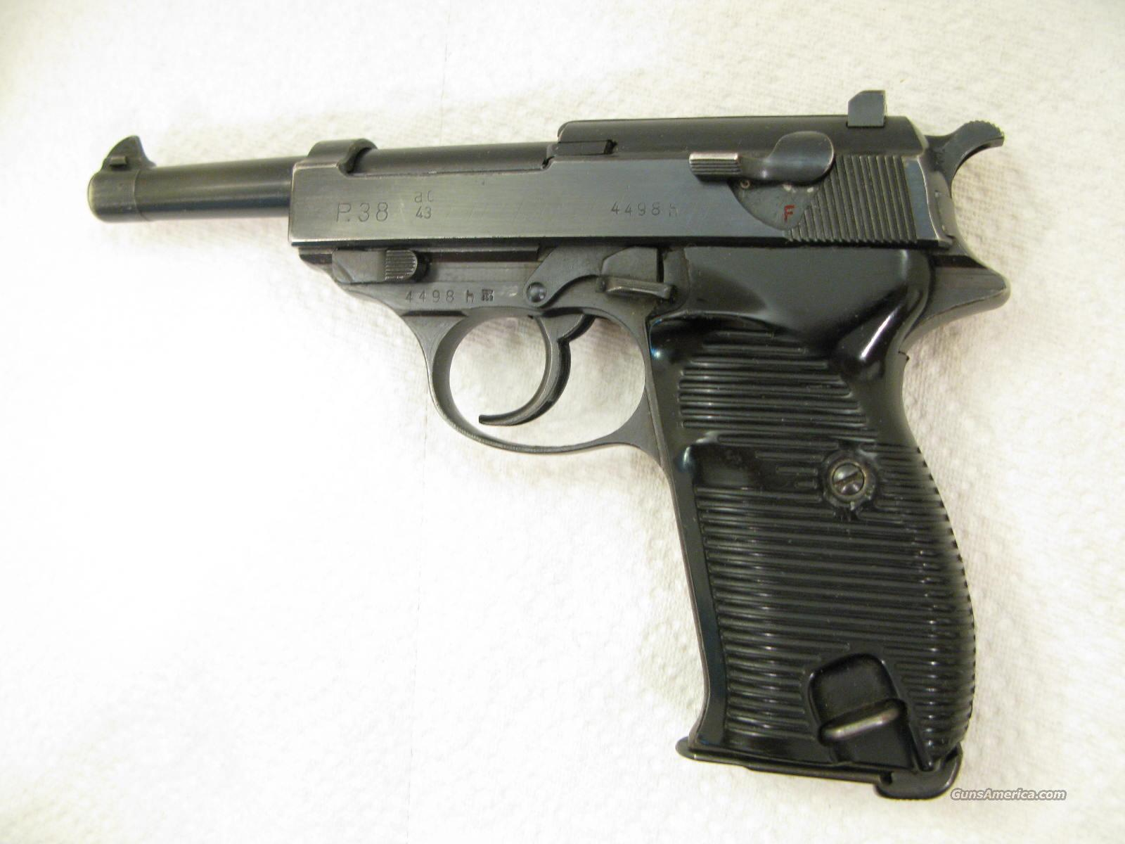 Walther P-38 AC 43 Matching WWII Veterans Gun and Nice  Guns > Pistols > Military Misc. Pistols Non-US