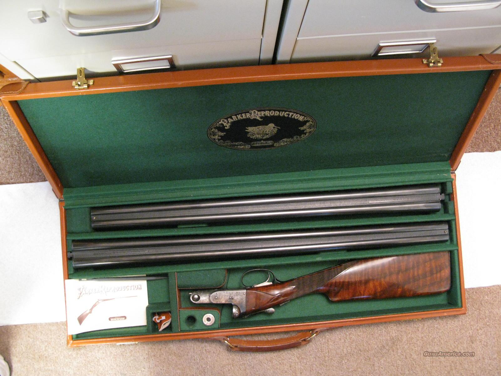 Parker DHE 12 Ga. 2 Barrel Set Cased   Guns > Shotguns > Parker Reproductions Shotguns